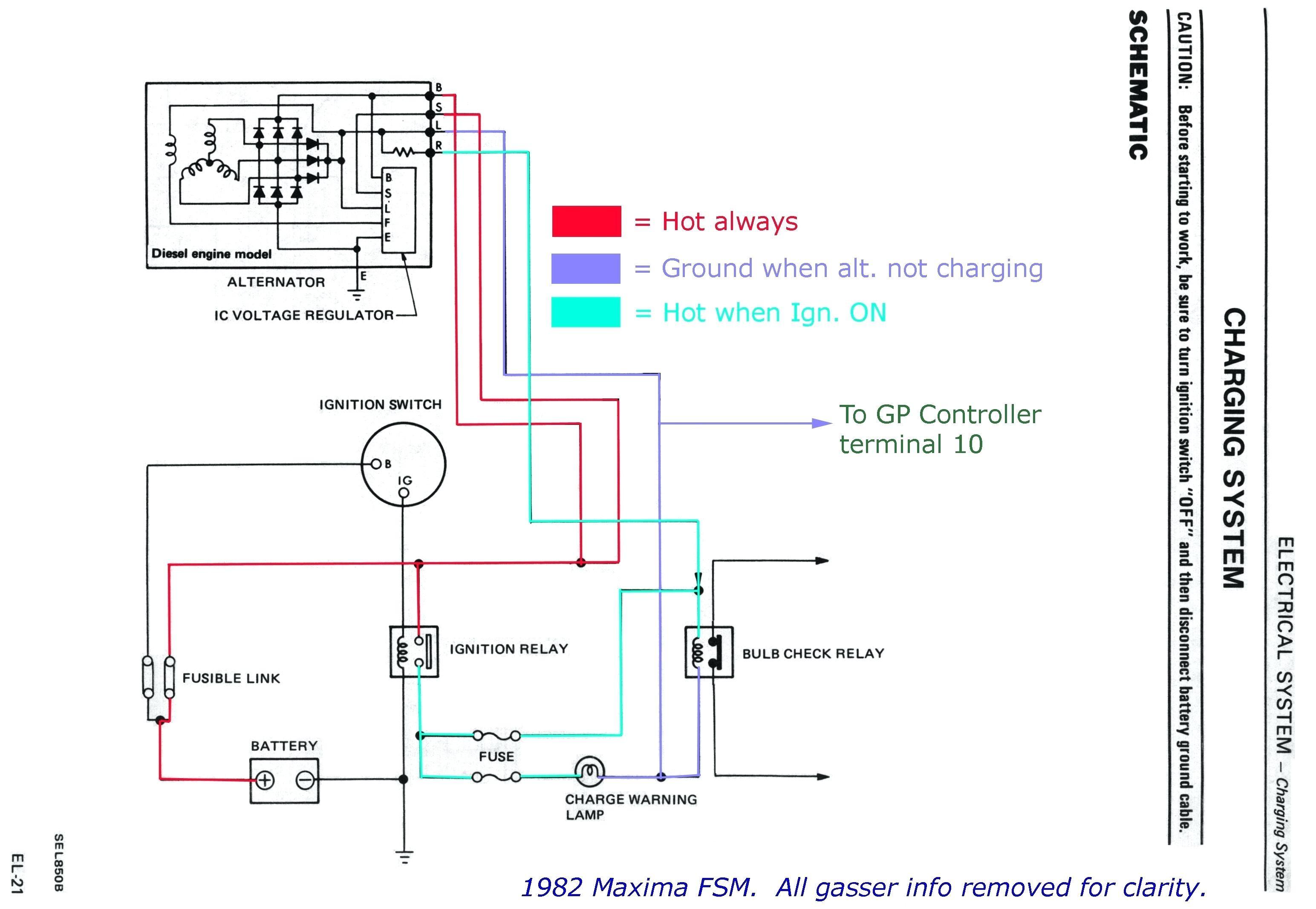 Diesel Engine Alternator Wiring Diagram Alternator Wiring Diagram W  Terminal New Alternator Wiring Diagram Of Diesel