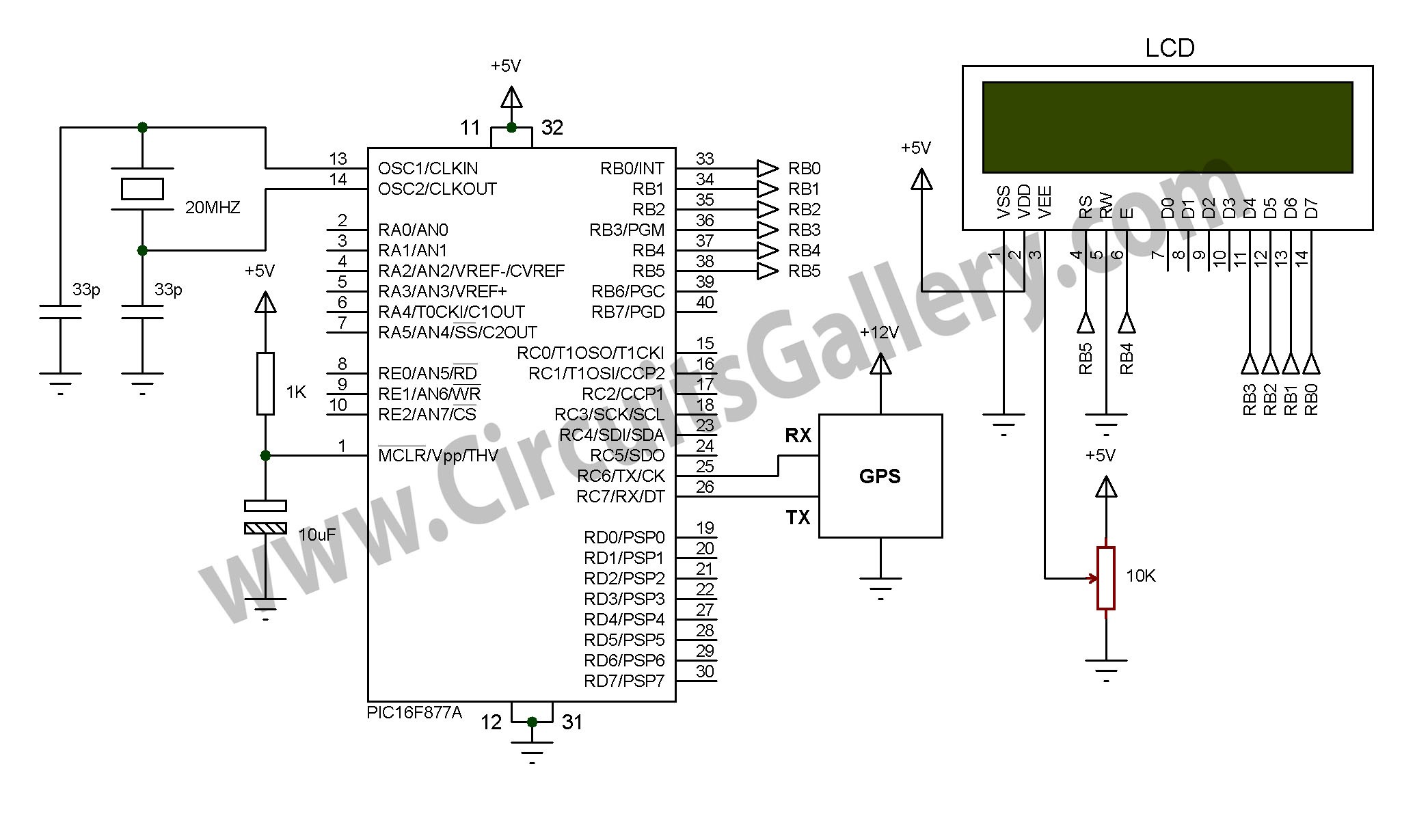 Digital Speedometer Circuit Diagram For Motorcycle My