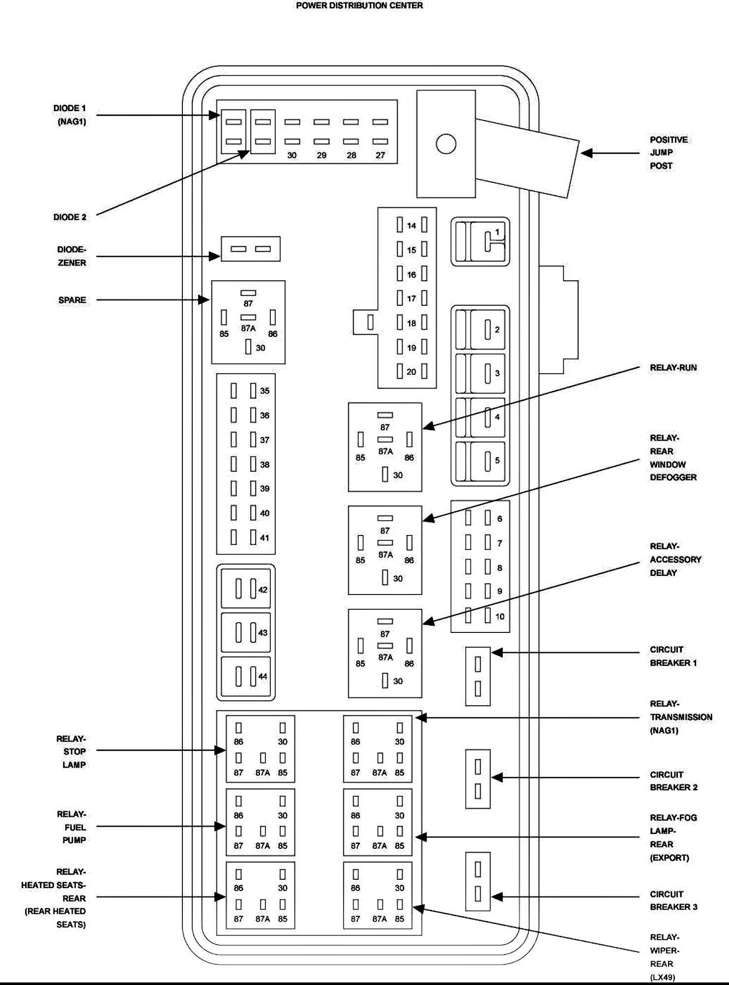 Dodge Caliber Engine Diagram 2010 Caliber Fuse Box Wiring Diagram Of Dodge Caliber Engine Diagram