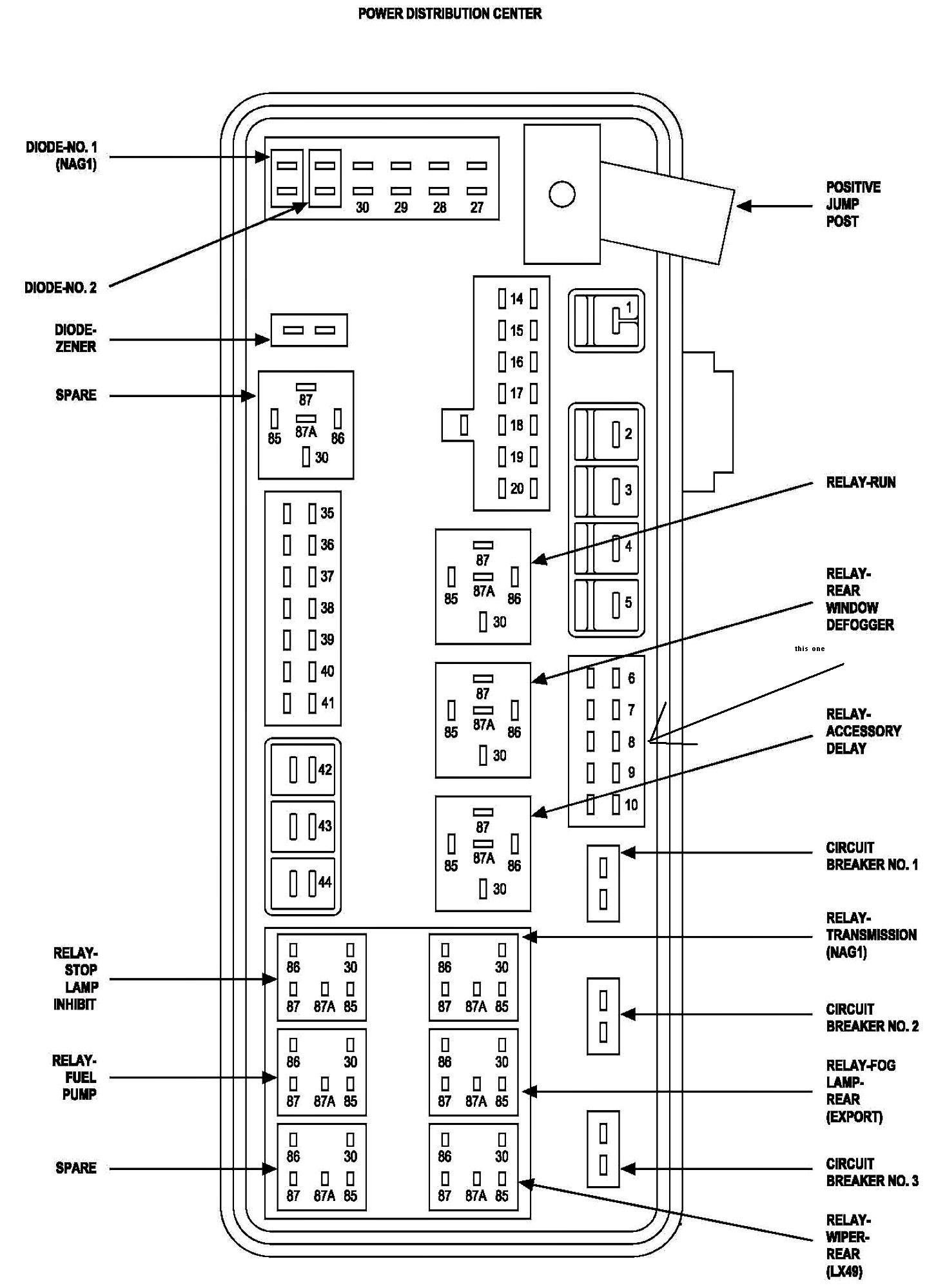 2014 ram 1500 fuse box easy to read wiring diagrams \u2022