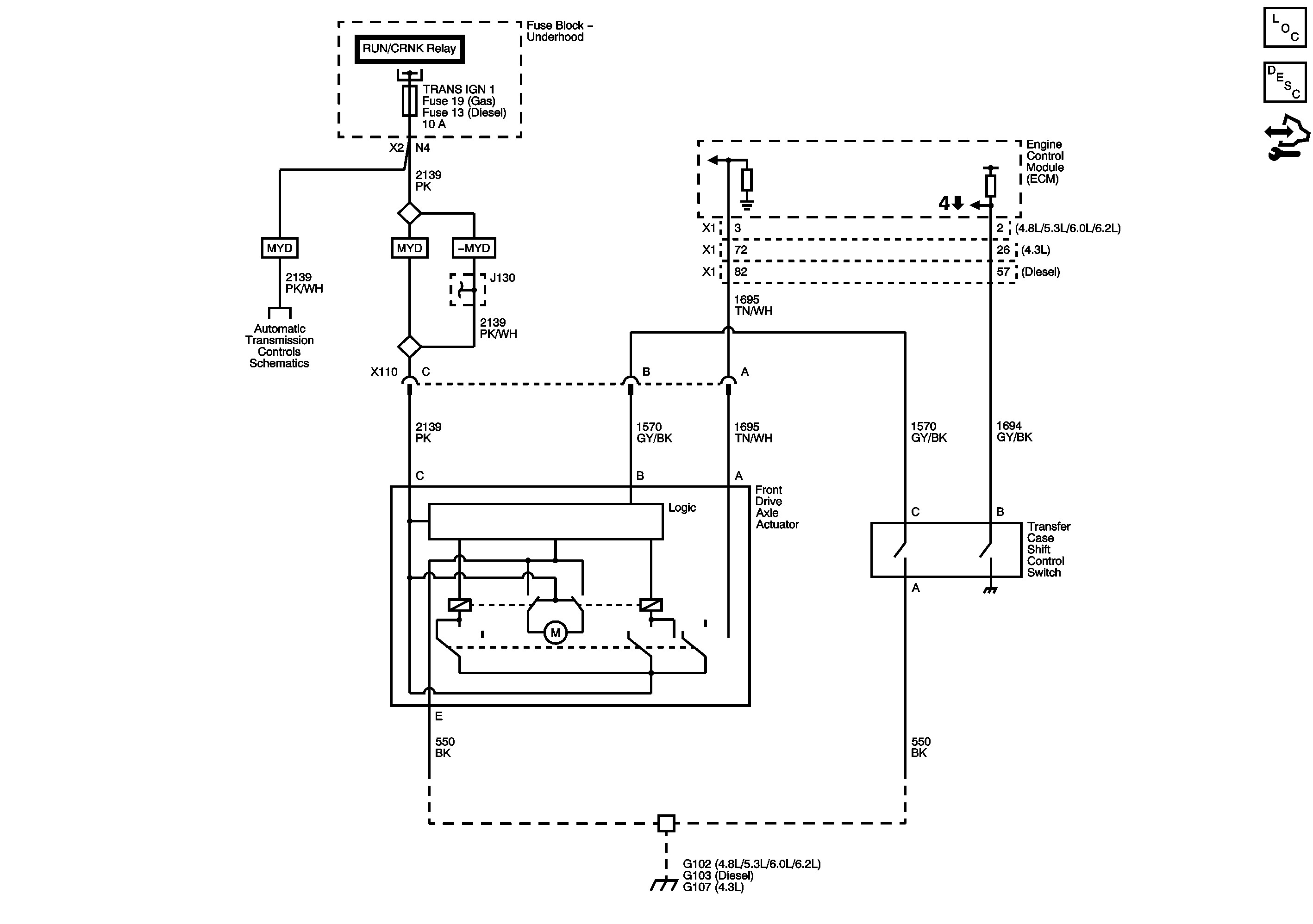 Drivetrain Diagram 4wd Silveradosierra • Gmt 900 4wd Function Transmission Drivetrain