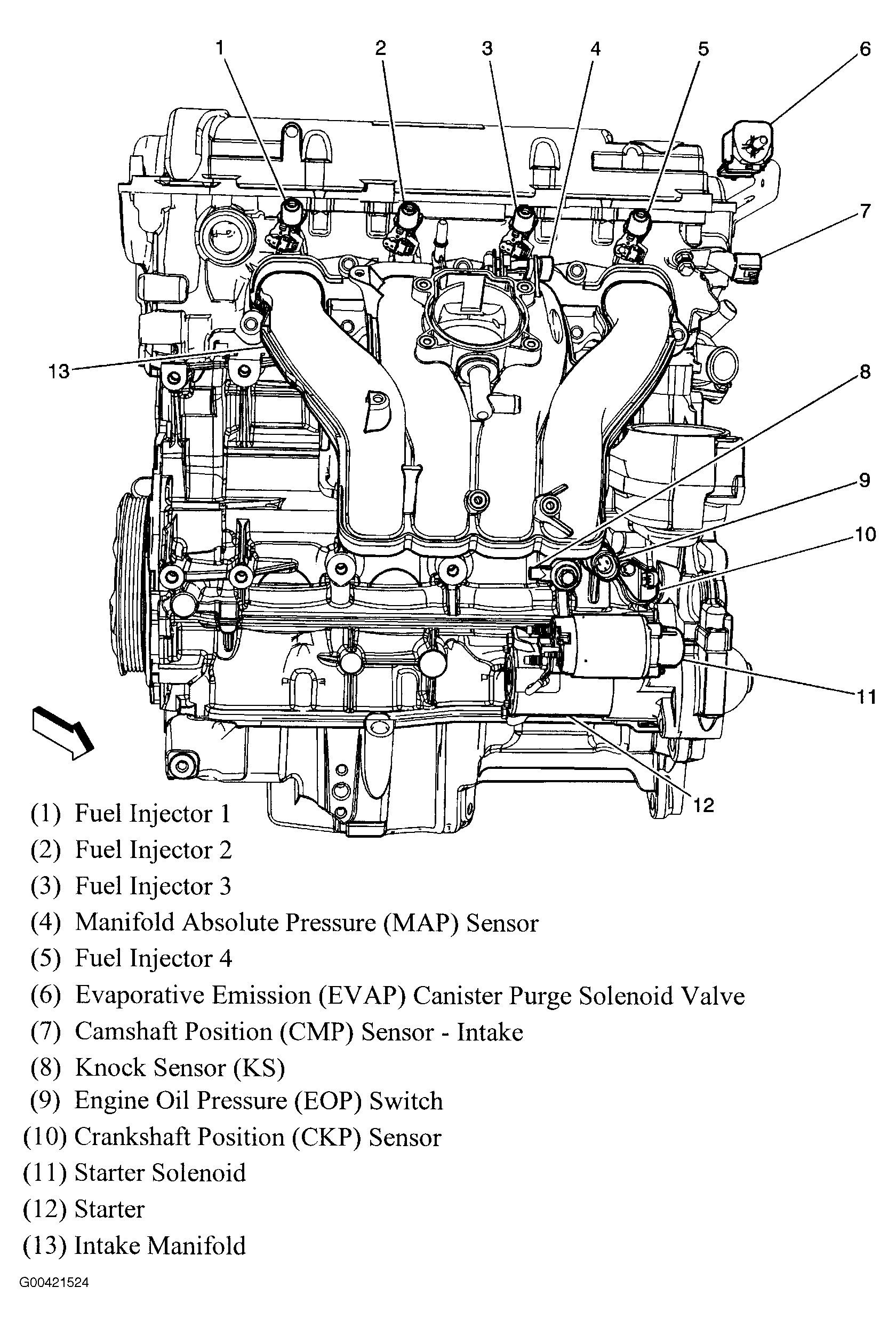 sohc engine diagram
