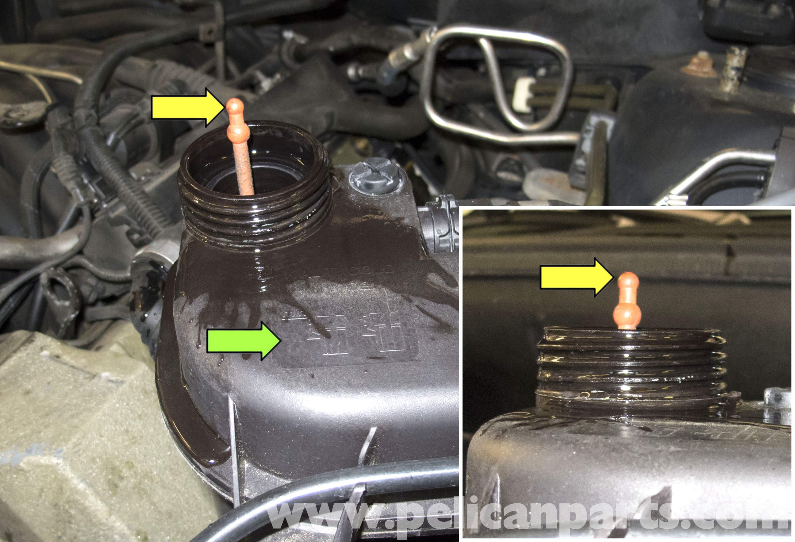 Engine Coolant Flow Diagram Bmw X5 Cooling System Draining and Filling E53  2000 2006 Of Engine