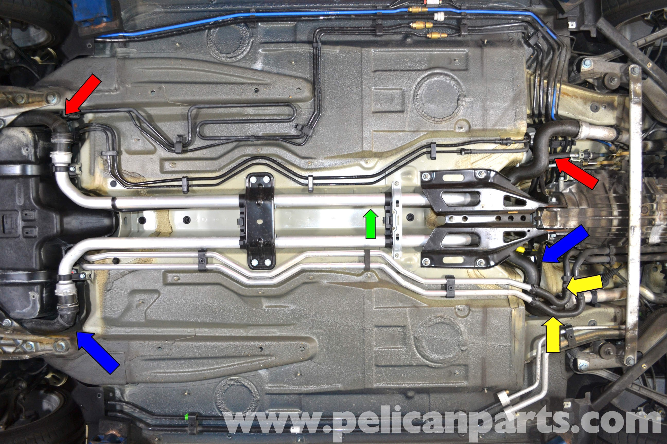 Engine Coolant Flow Diagram Porsche 911 Carrera Coolant Hose Replacement 996 1998 2005 997 Of Engine Coolant Flow Diagram