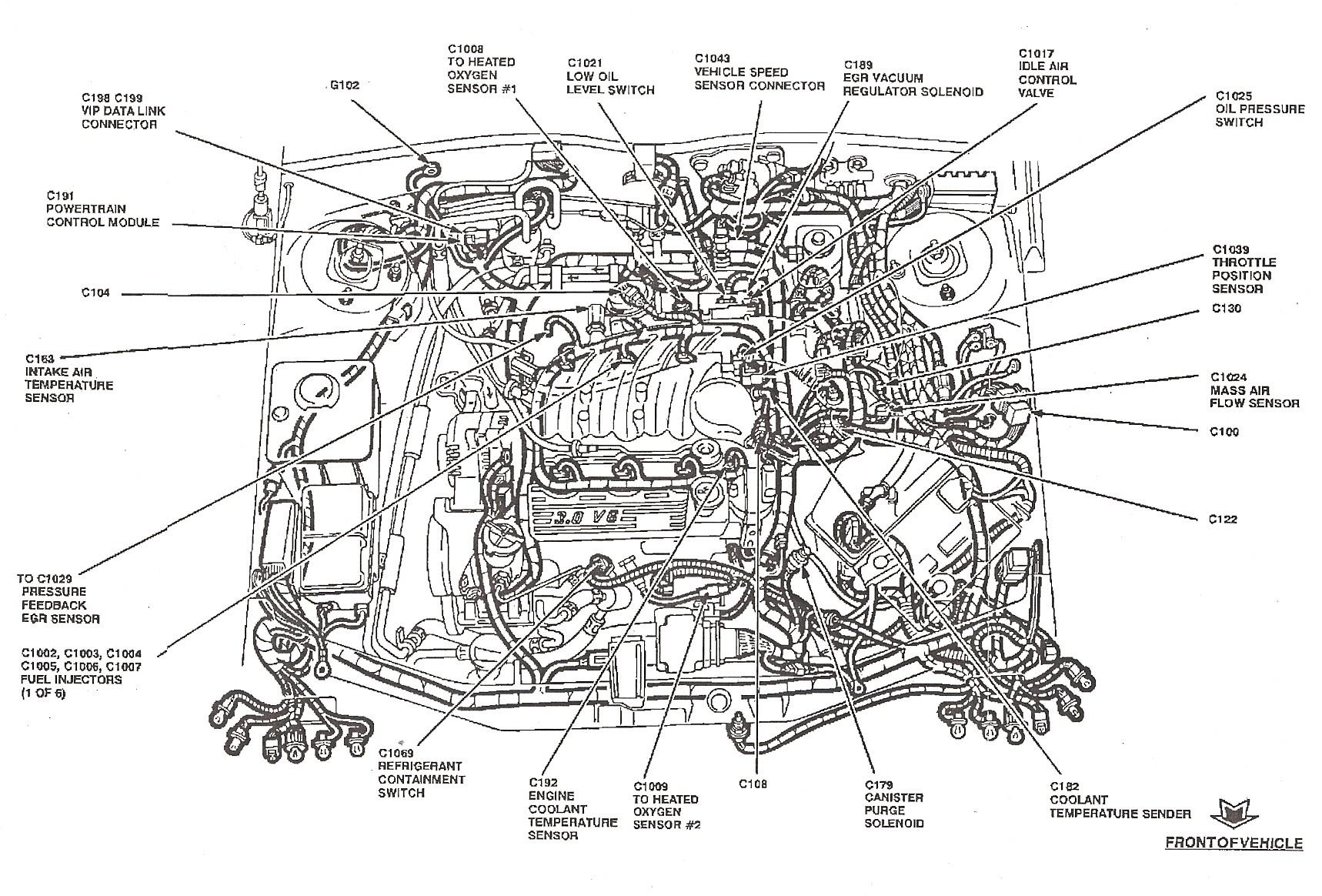 engine parts diagram zetec engine diagram vacuum wiring