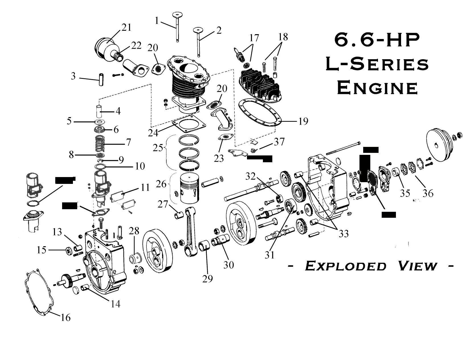 Engine Valve Parts Diagram 6 6 Hp Gravely Engine Parts Page Of Engine Valve Parts Diagram