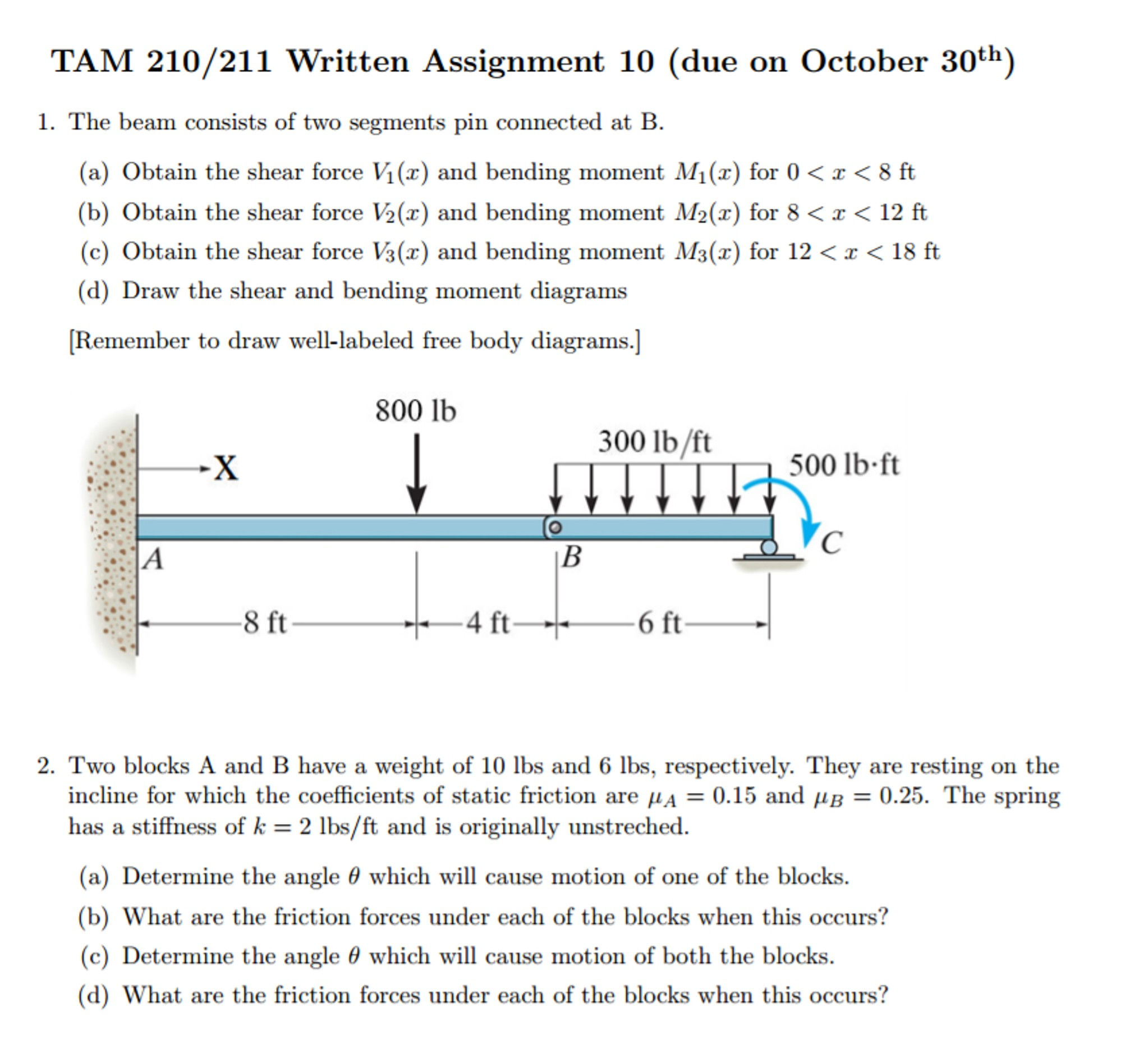 Engineering Mechanics Free Body Diagram Mechanical Engineering Archive October 30 2016 Of Engineering Mechanics Free Body Diagram