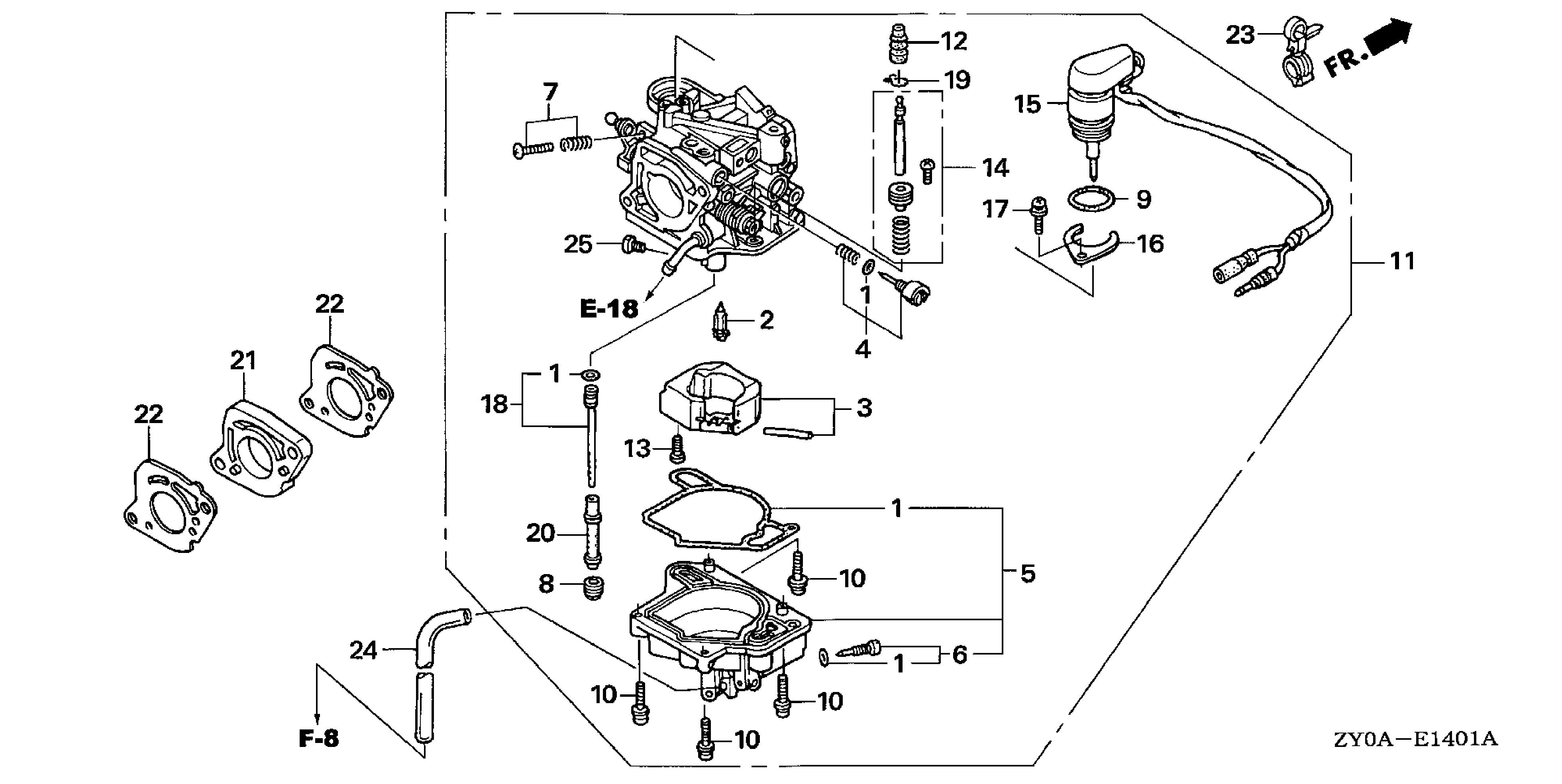 evinrude 15 hp parts diagram