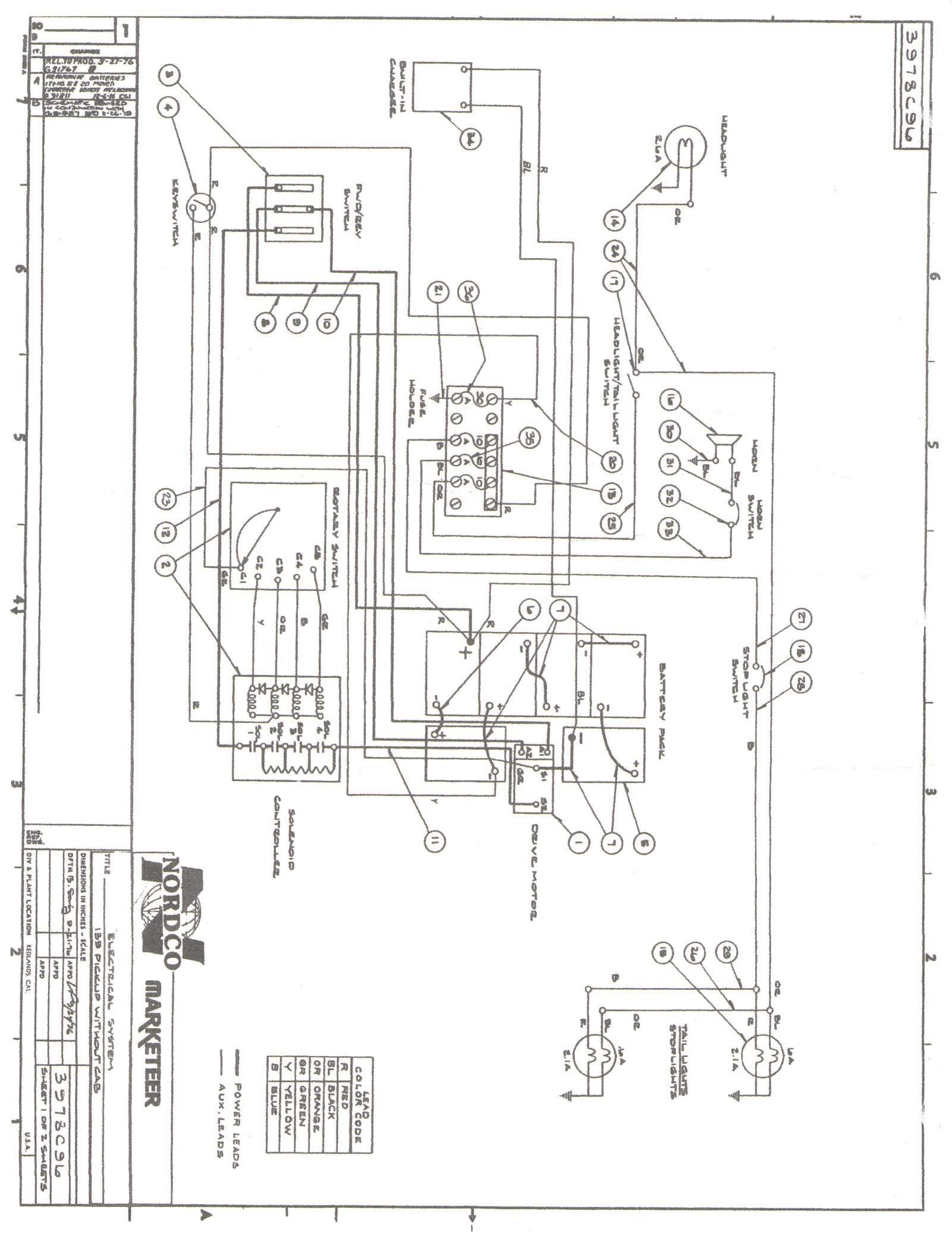 Ez Go Golf Cart Wiring Diagram Wiring Diagram for Ez Go Golf Cart Electric New Marketeer Golf Cart Of Ez Go Golf Cart Wiring Diagram