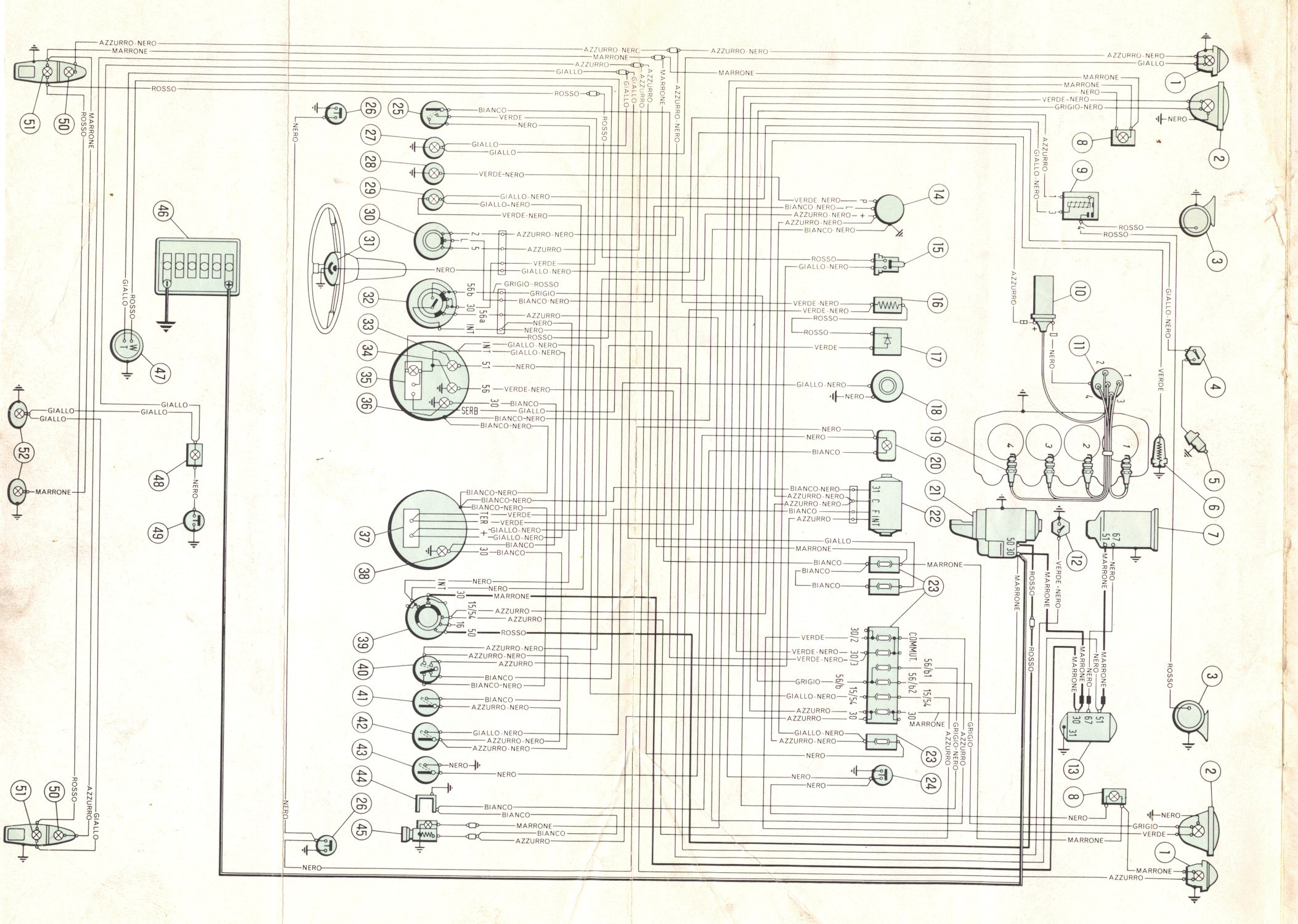 1973 Fiat 128 Wiring Diagram In Color Trusted Diagrams Volkswagen For Example Electrical U2022 Rh Huntervalleyhotels Co Dodge Challenger