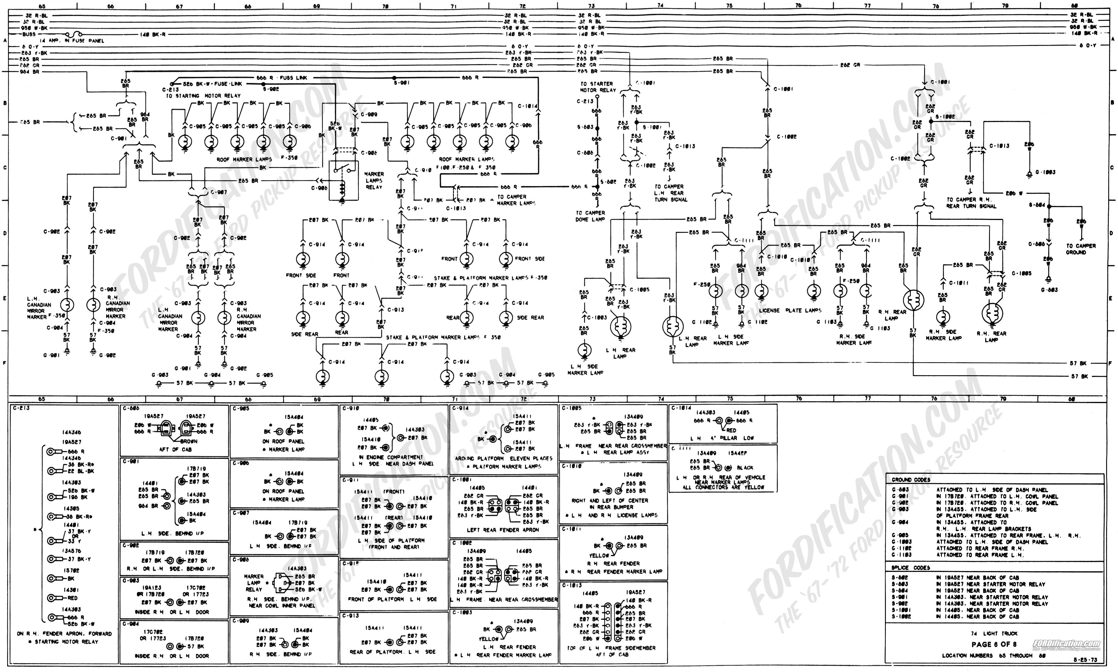 Ford F150 Wiring Harness Diagram 1973 1979 ford Truck Wiring Diagrams & Schematics fordification Of Ford F150 Wiring Harness Diagram