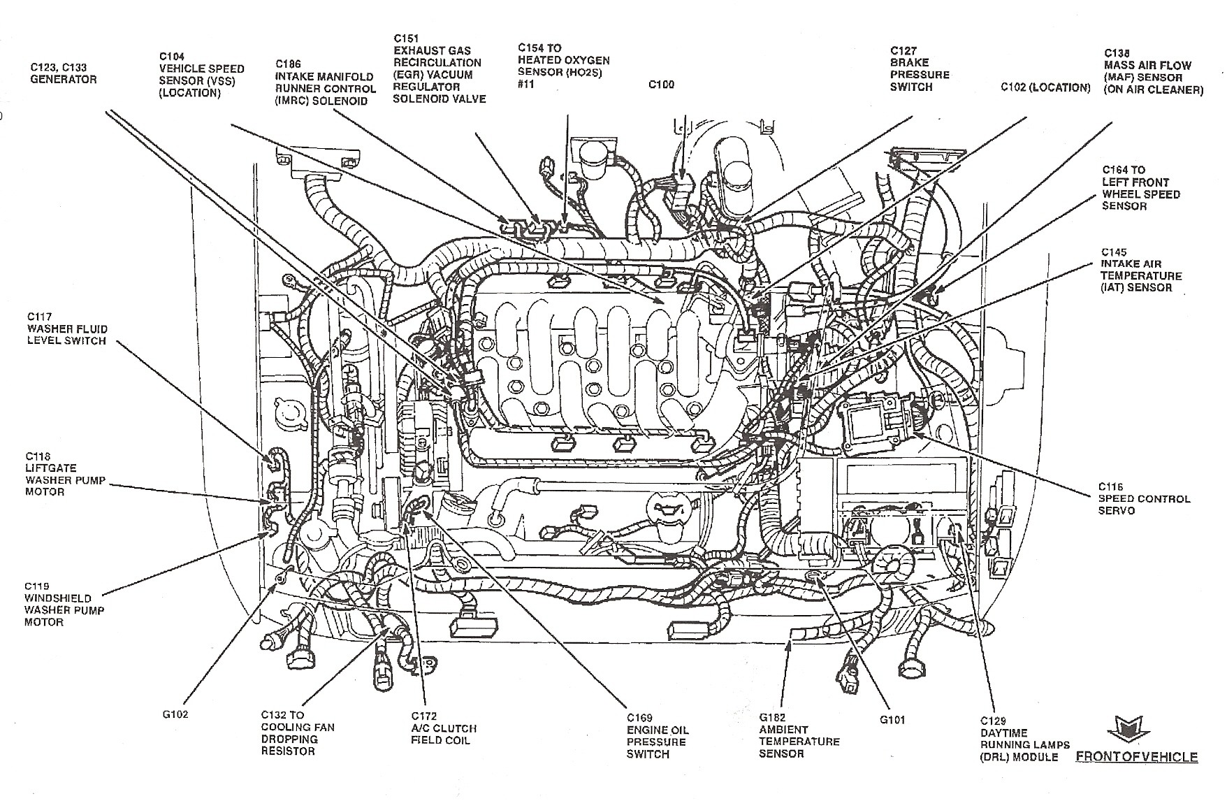 Ford Focus 2001 Engine Diagram 2008 Bmw 328i Zetec Vacuum Wiring Diagrams Instructions Of