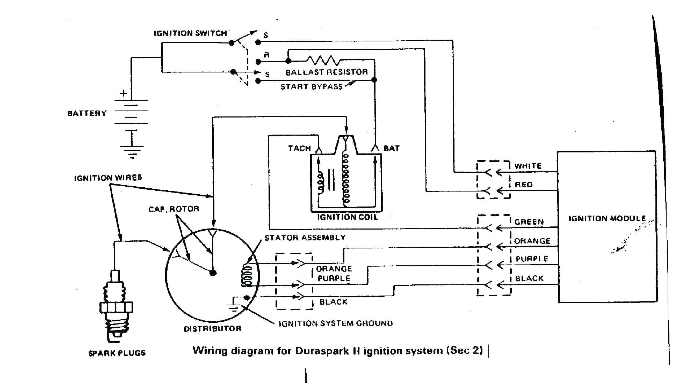 Ford 302 Distributor Wiring - System Wiring Diagram Mallory Ignition Wiring Diagram Hei Distributor on