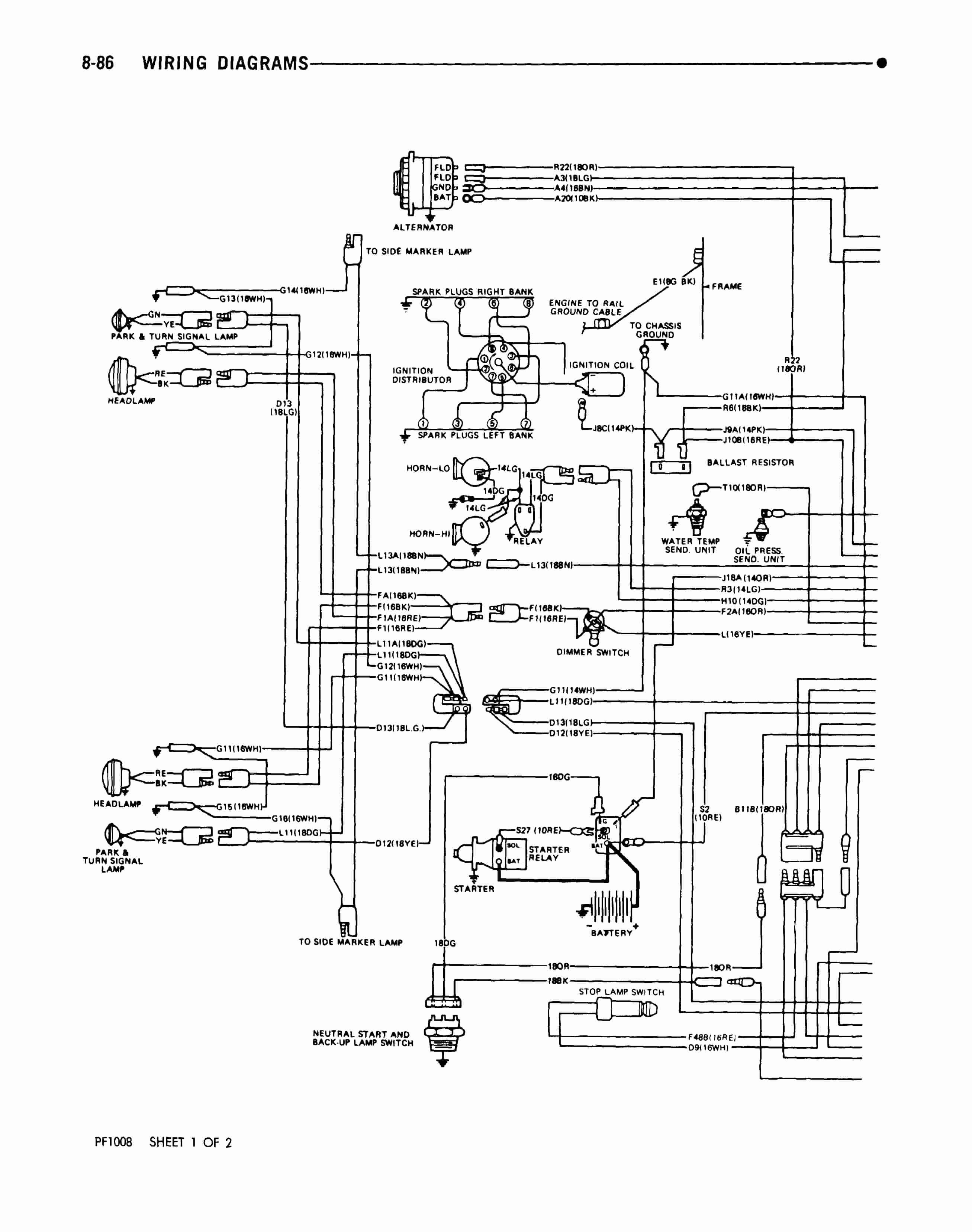 Freightliner Chassis Wiring Diagram Fleetwood Rv Battery 1988 Awesome Of