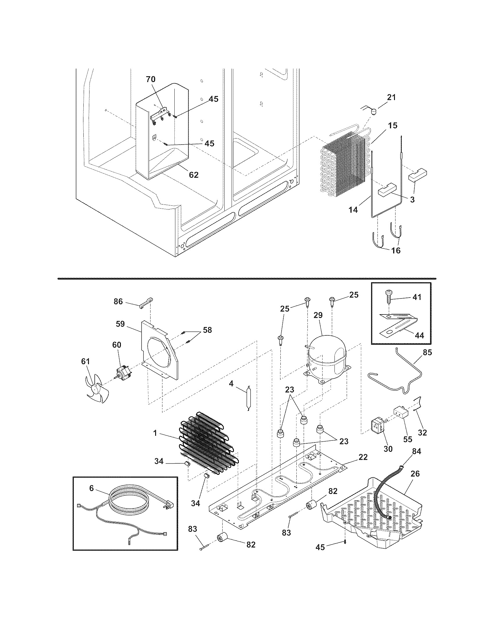 Frigidaire Ice Maker Parts Diagram Charming Maytag Refrigerator Wiring Schematic Model Ffss2614qs0 Side By Genuine Of