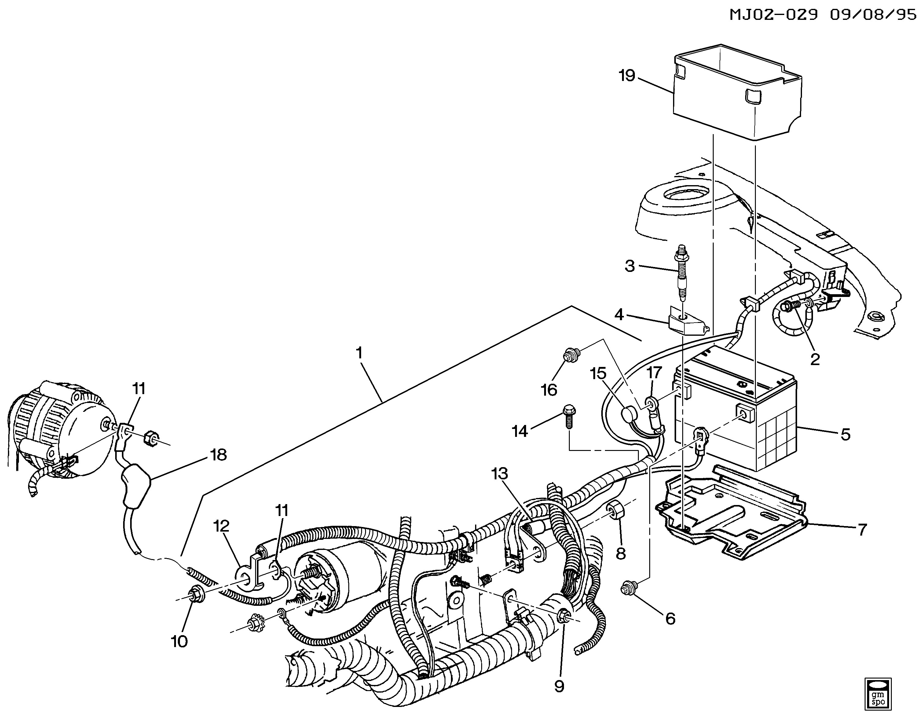 Gm Parts Diagrams with Part Numbers Cavalier Battery Cables Chevrolet Epc Line Nemiga Of Gm Parts Diagrams with Part Numbers