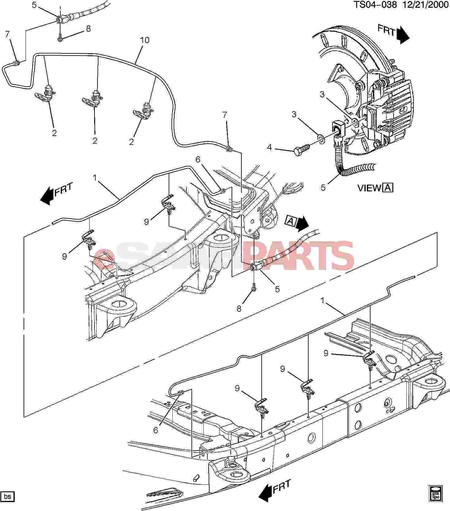 gmc envoy parts diagram esaabparts saab 9 7x engine parts