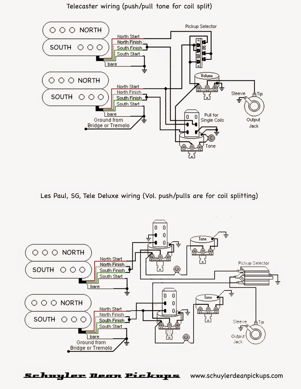 Electric Guitar Wiring Diagrams. Wiring. Wiring Diagrams Instructions