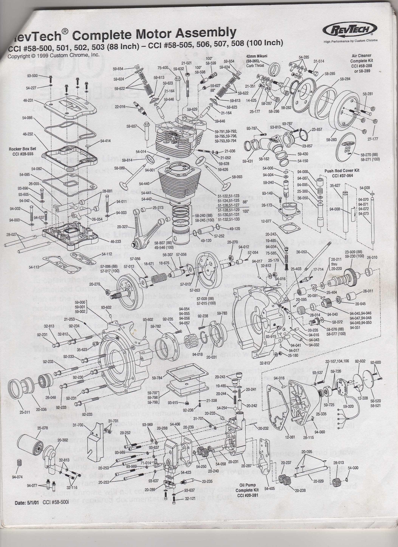 Harley Twin Cam Engine Diagram Harley Davidson Engine Parts Diagram Elegant Revtech Owners Manual V Of Harley Twin Cam Engine Diagram