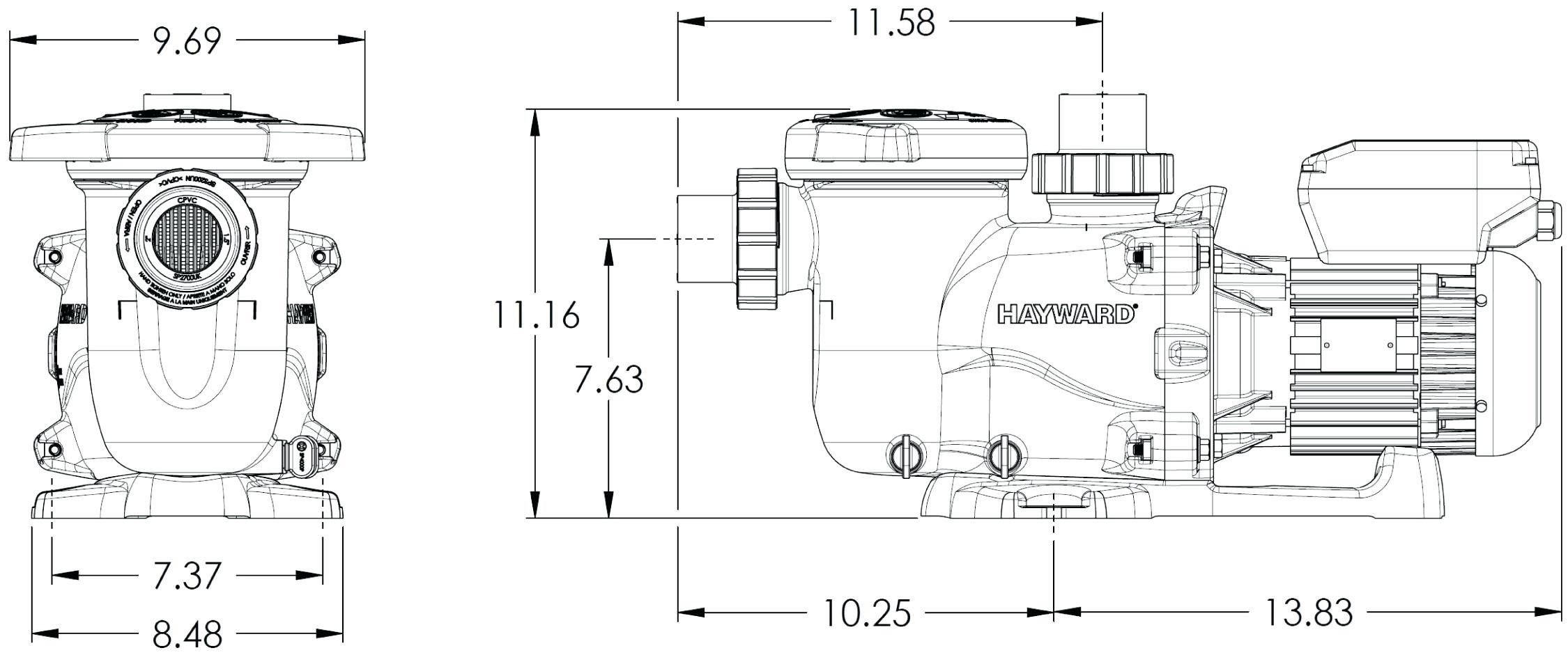 Hayward super Ii Pump manual on