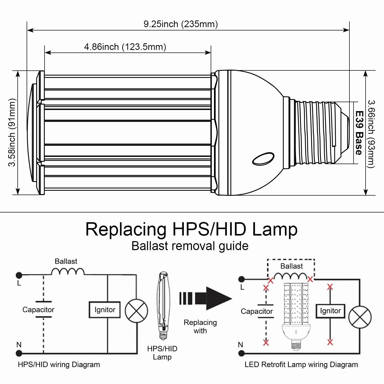 high pressure sodium ballast wiring diagram my wiring