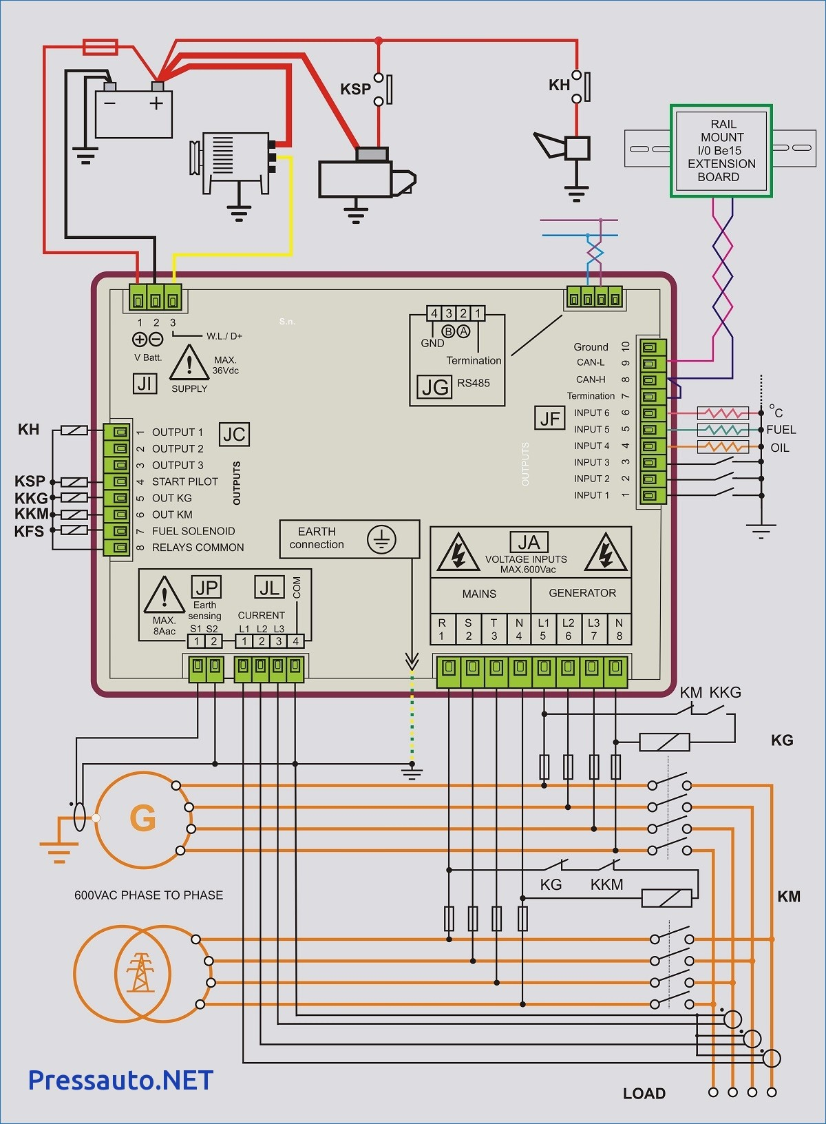 Home Generator Transfer Switch Wiring Diagram Diesel Homegeneratorcontrolpanelwiringdiagramjpg Modern How To Wire A Ornament The