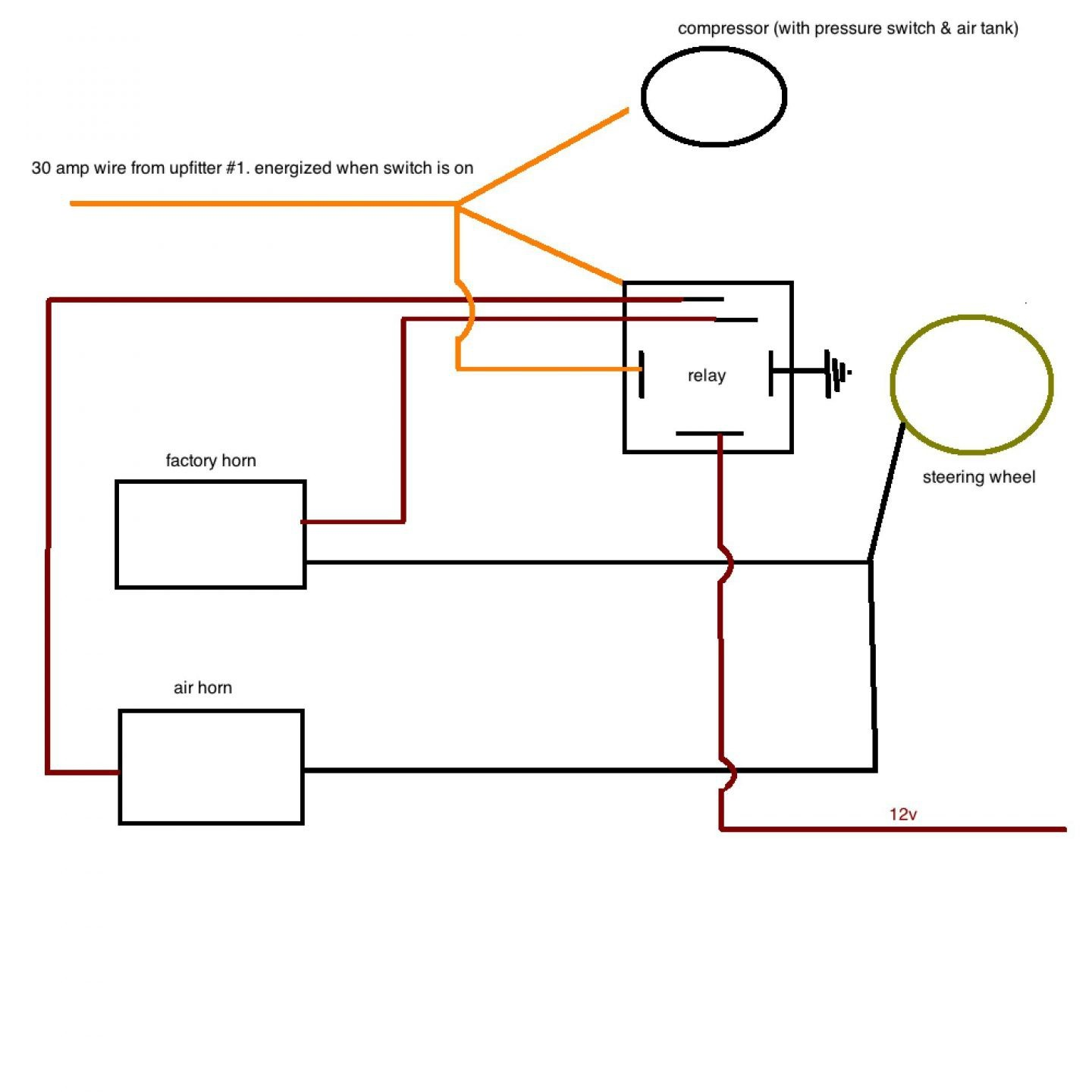 train horn plumbing diagram wiring diagram. Black Bedroom Furniture Sets. Home Design Ideas