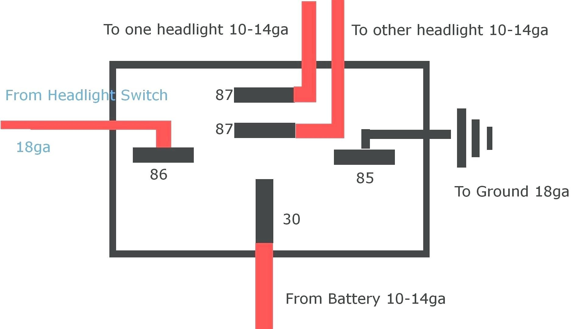 Horn Wiring Diagram with Relay Car Horn Wiring Diagram Fresh ... on