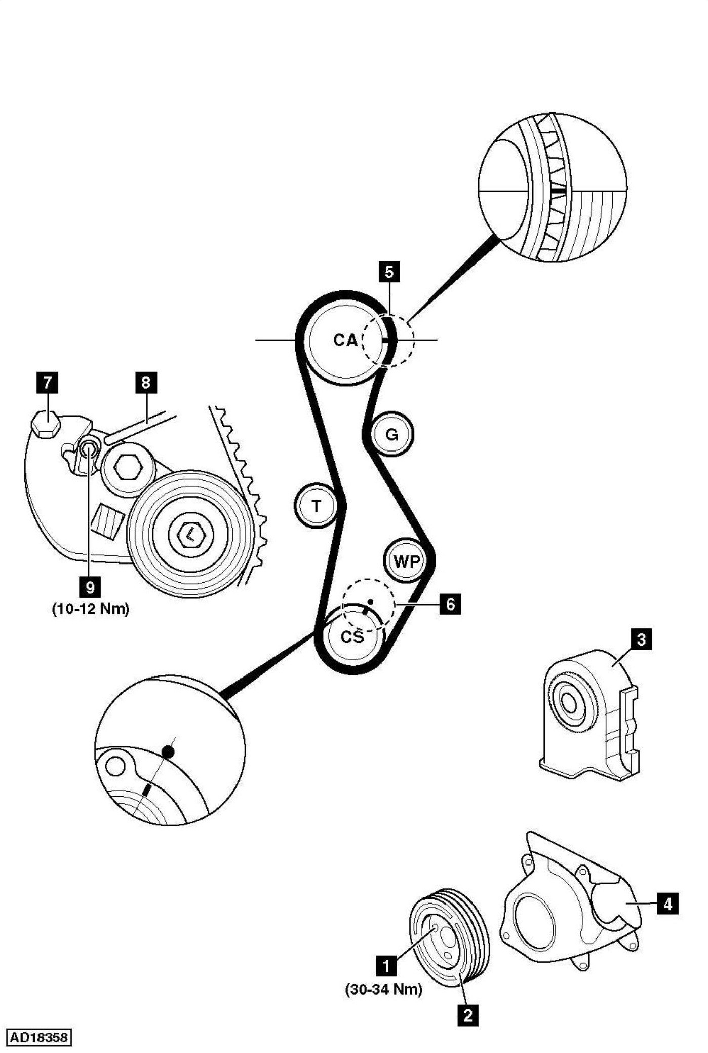 Hyundai Santa Fe Wiring Diagram 2004 Engine Mechanic New Timing How To Replace Of
