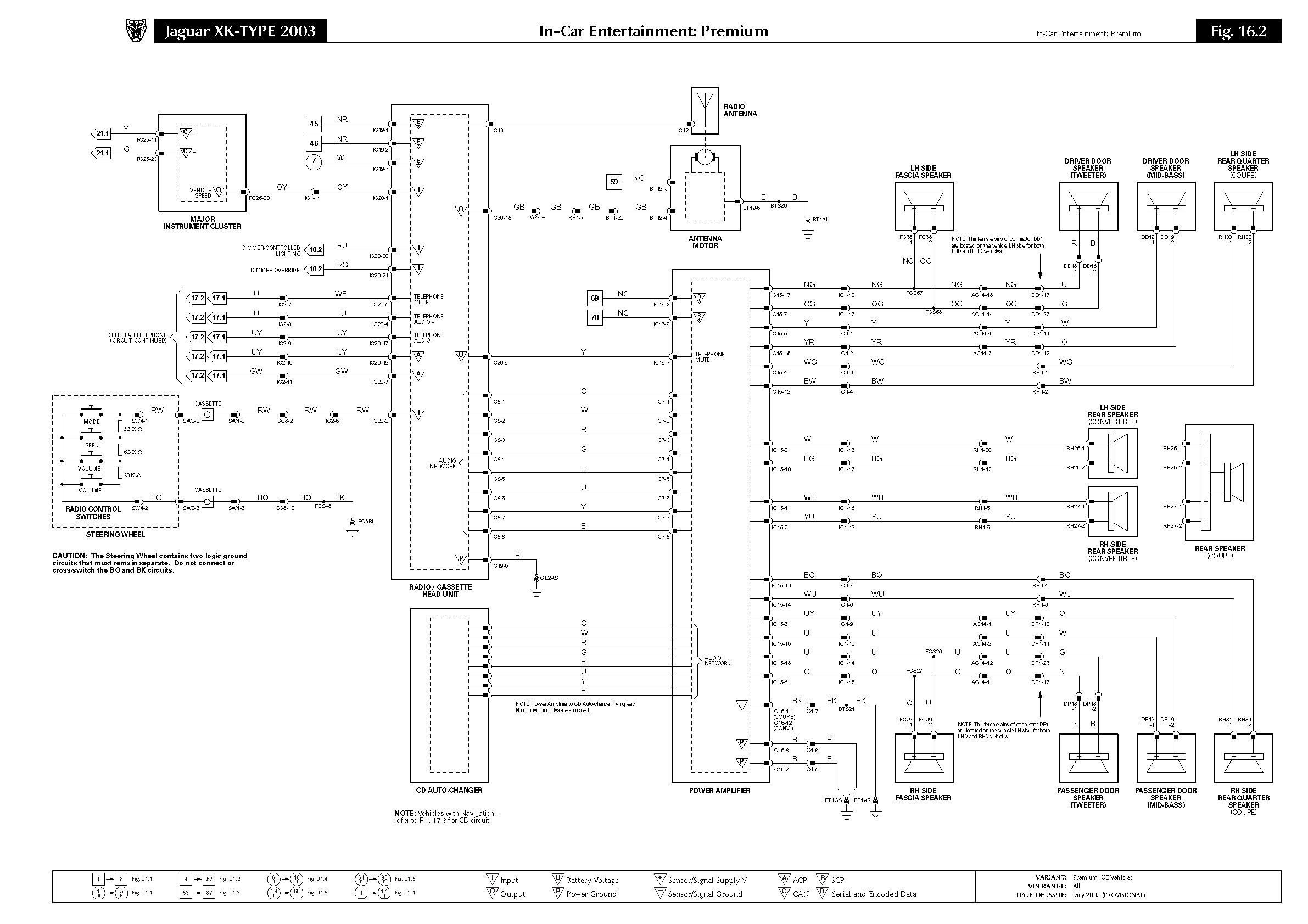 1988 Jaguar Xjs Wiring Diagram Jaguar Xj6 Electrical Wiring Diagram