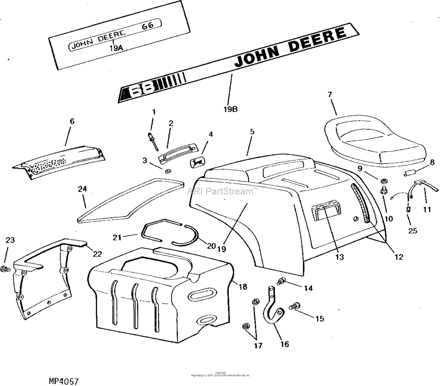 john deere gator engine parts diagram