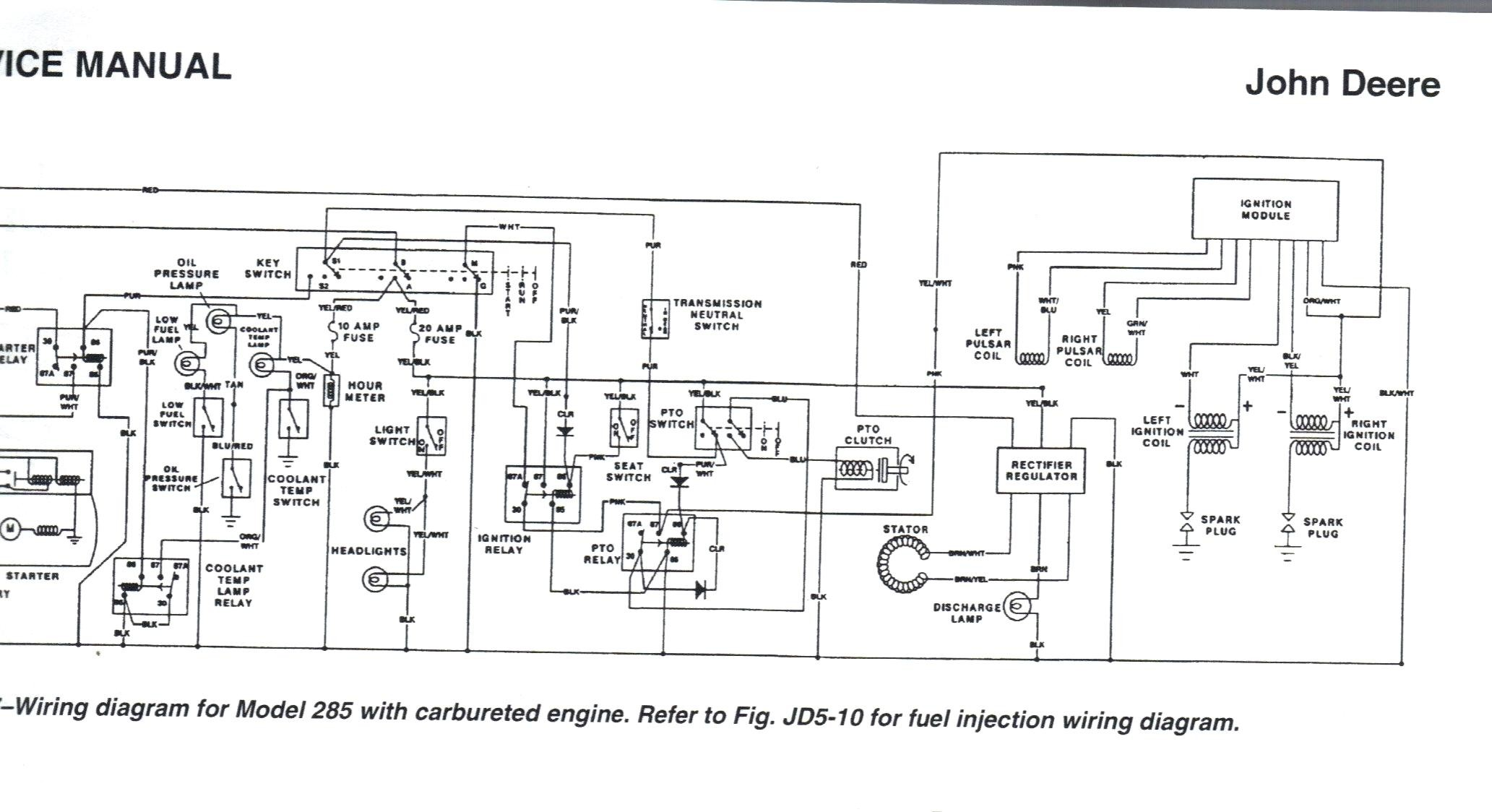 wiring diagram for john deere 110 lawn tractor wiring diagram john deere wiring diagrams free john deere 317 ignition diagram #15