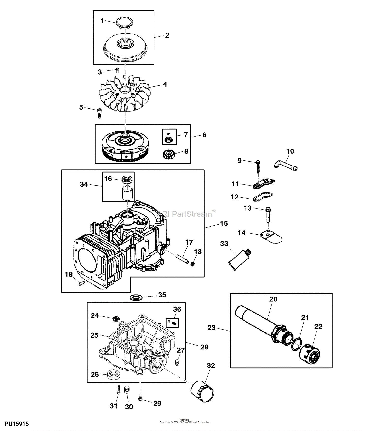 John Deere La105 Engine Diagram John Deere Parts Diagrams John Deere La105 Tractor Pc9740 Of John Deere La105 Engine Diagram