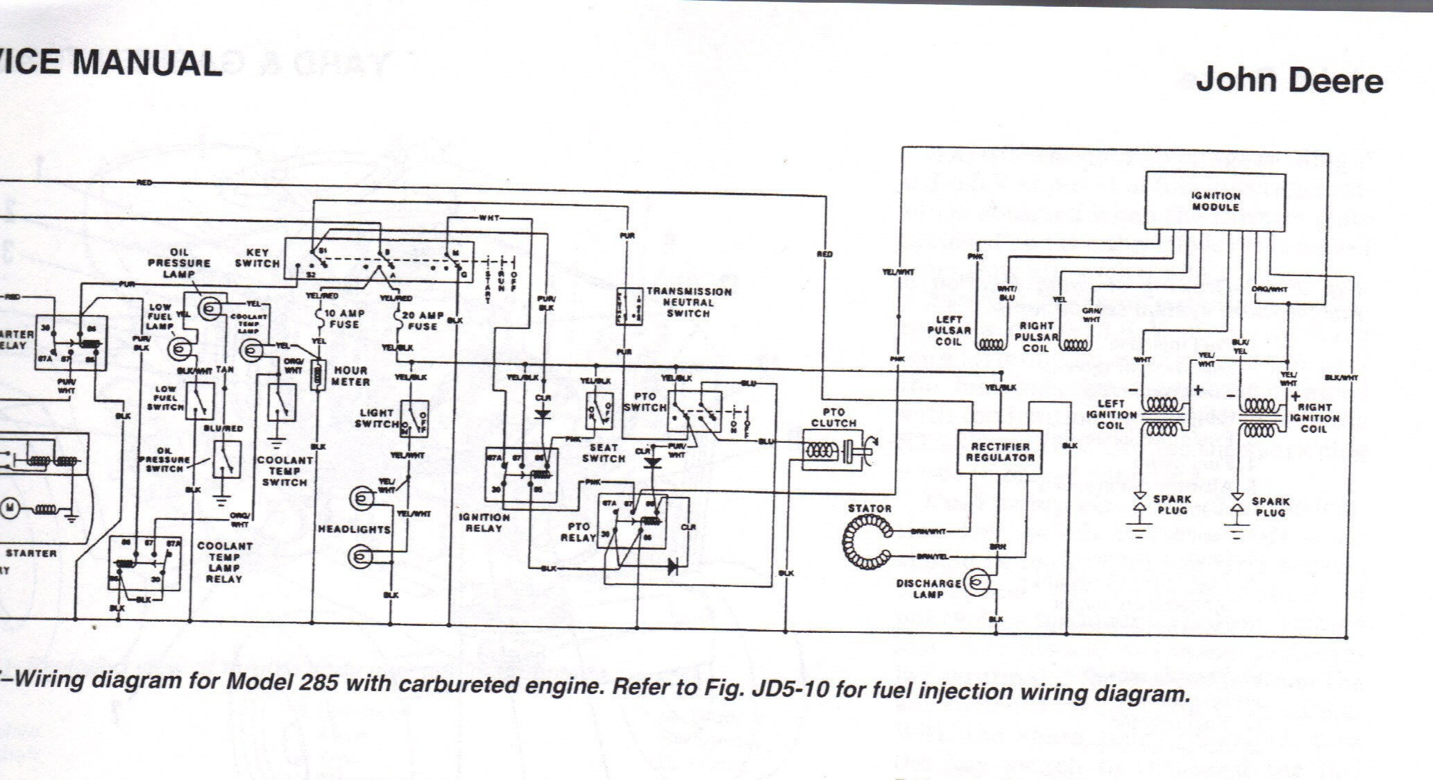 John Deere Wiring Diagrams Jd Stx 38 Wiring Diagram Wiring Diagram Of John Deere Wiring Diagrams