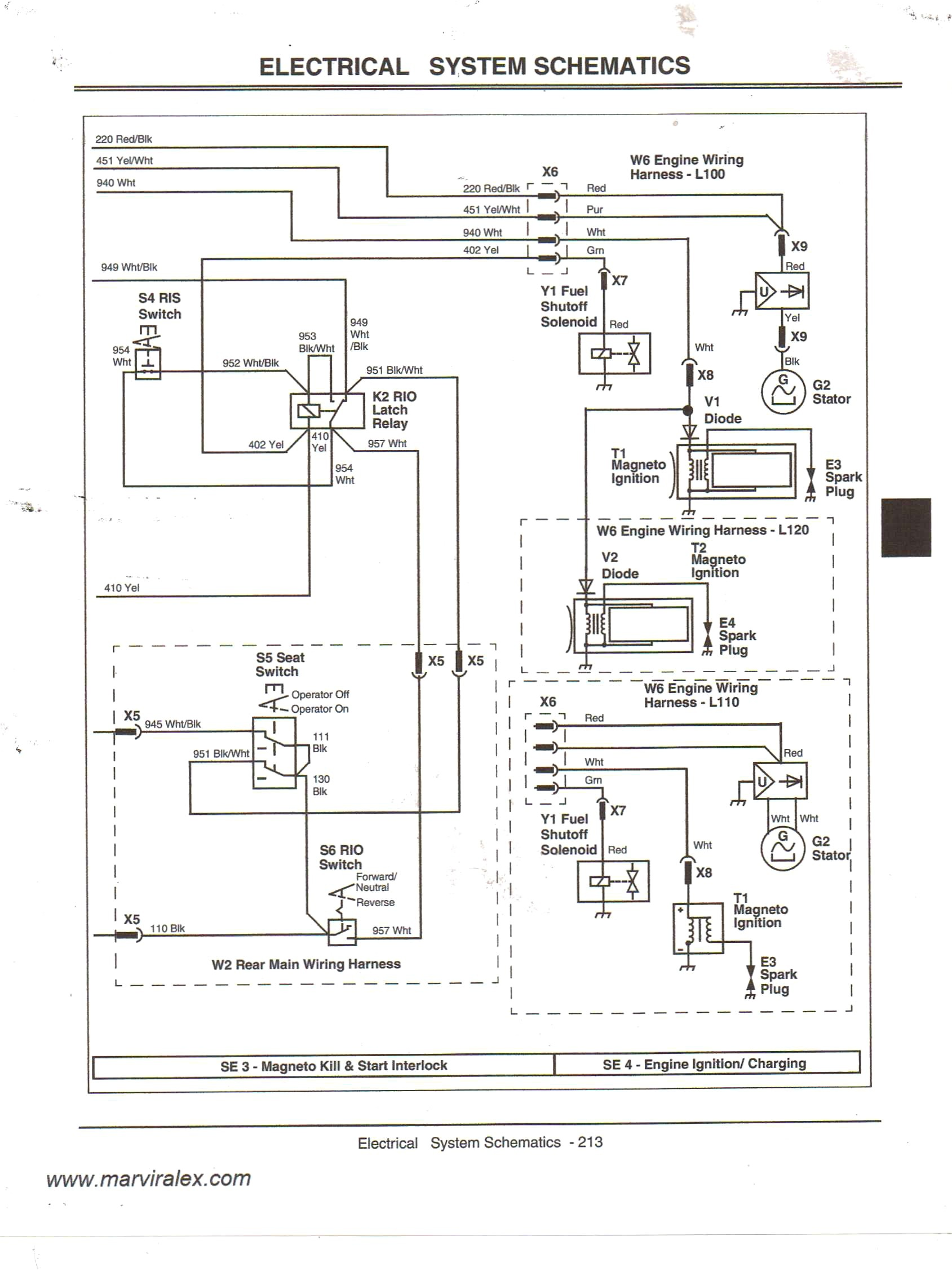 John Deere Wiring Diagrams Stx 38 Wiring Diagram Wiring Diagram Of John Deere Wiring Diagrams