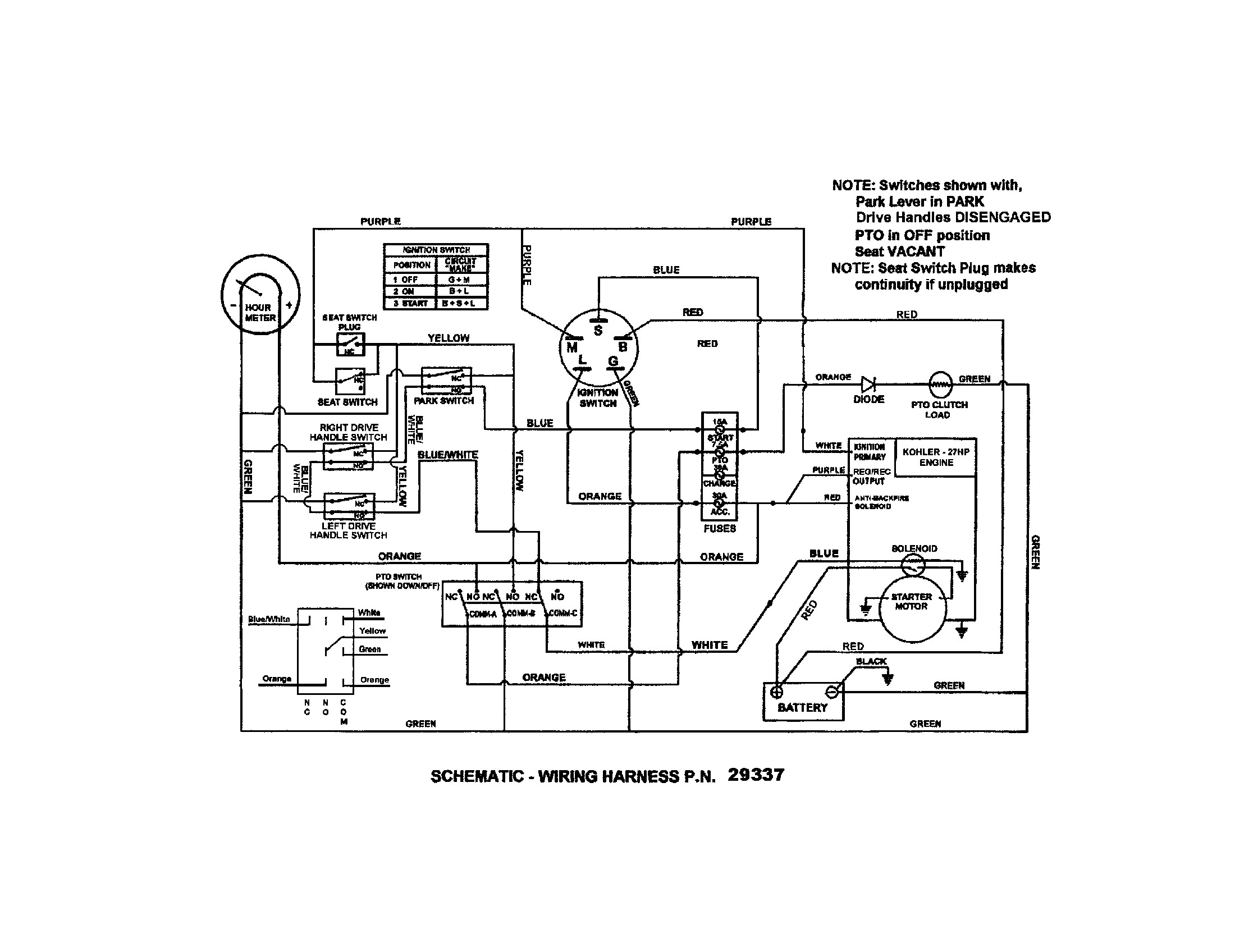Kohler Engine Ignition Wiring Diagram Snapper Model Nzm Kwv Lawn Riding Mower Rear Engine Genuine Parts Of Kohler Engine Ignition Wiring Diagram Key Wiring Diagram Wiring Diagram