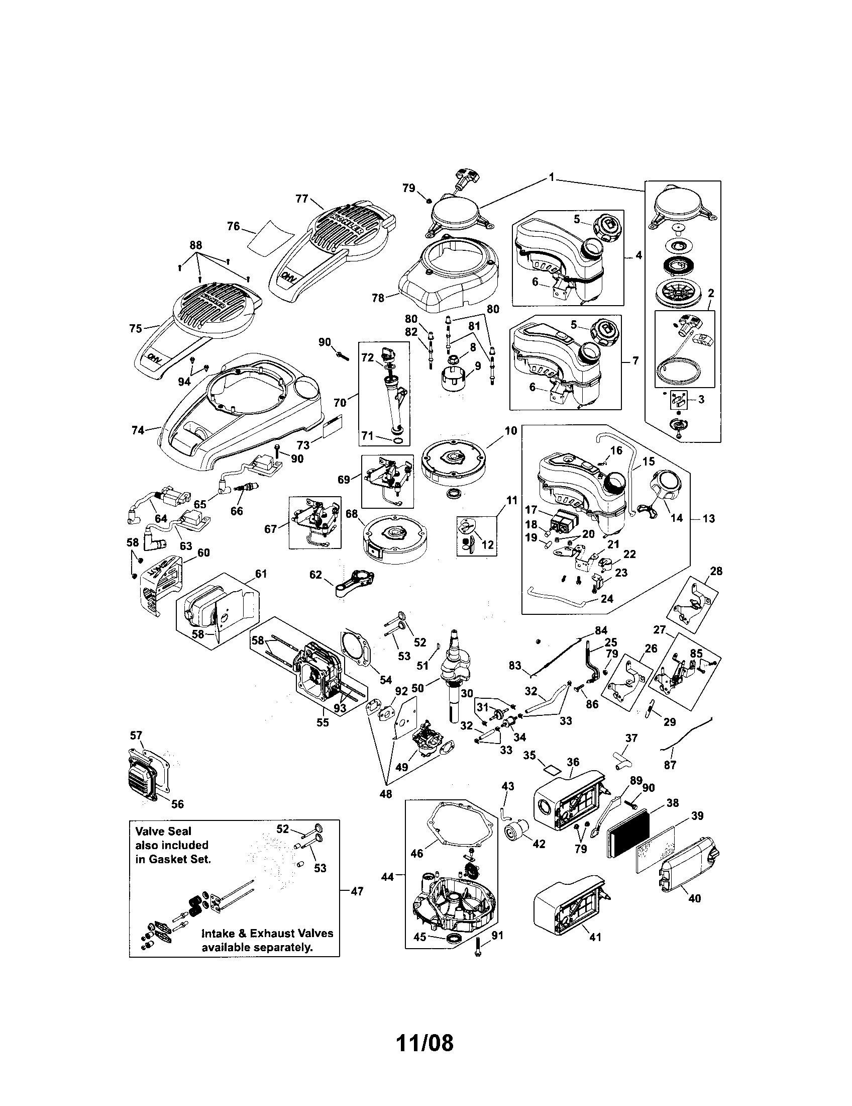 kohler engine schematics