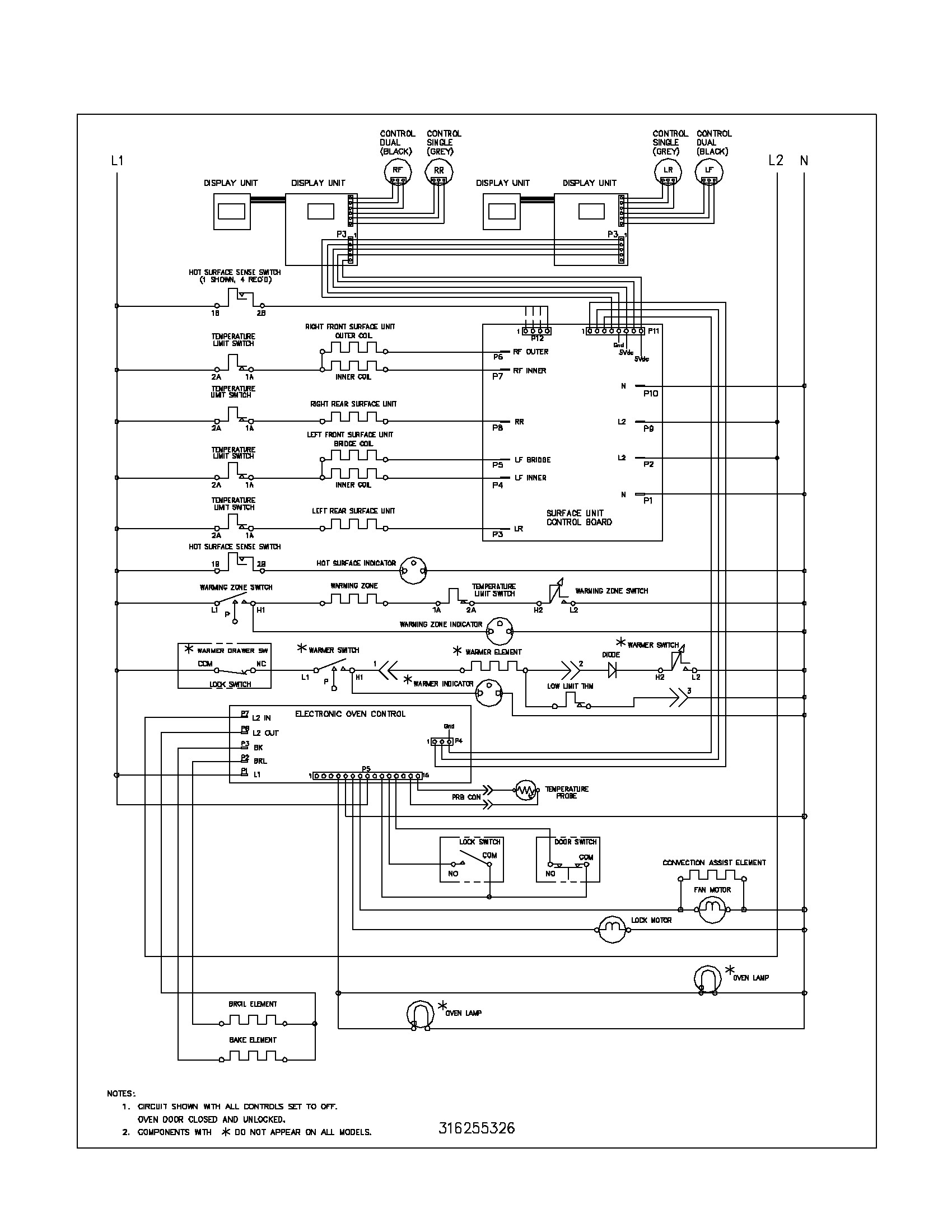 Limit Switch Wiring Diagram Parts To Frigidaire B2network
