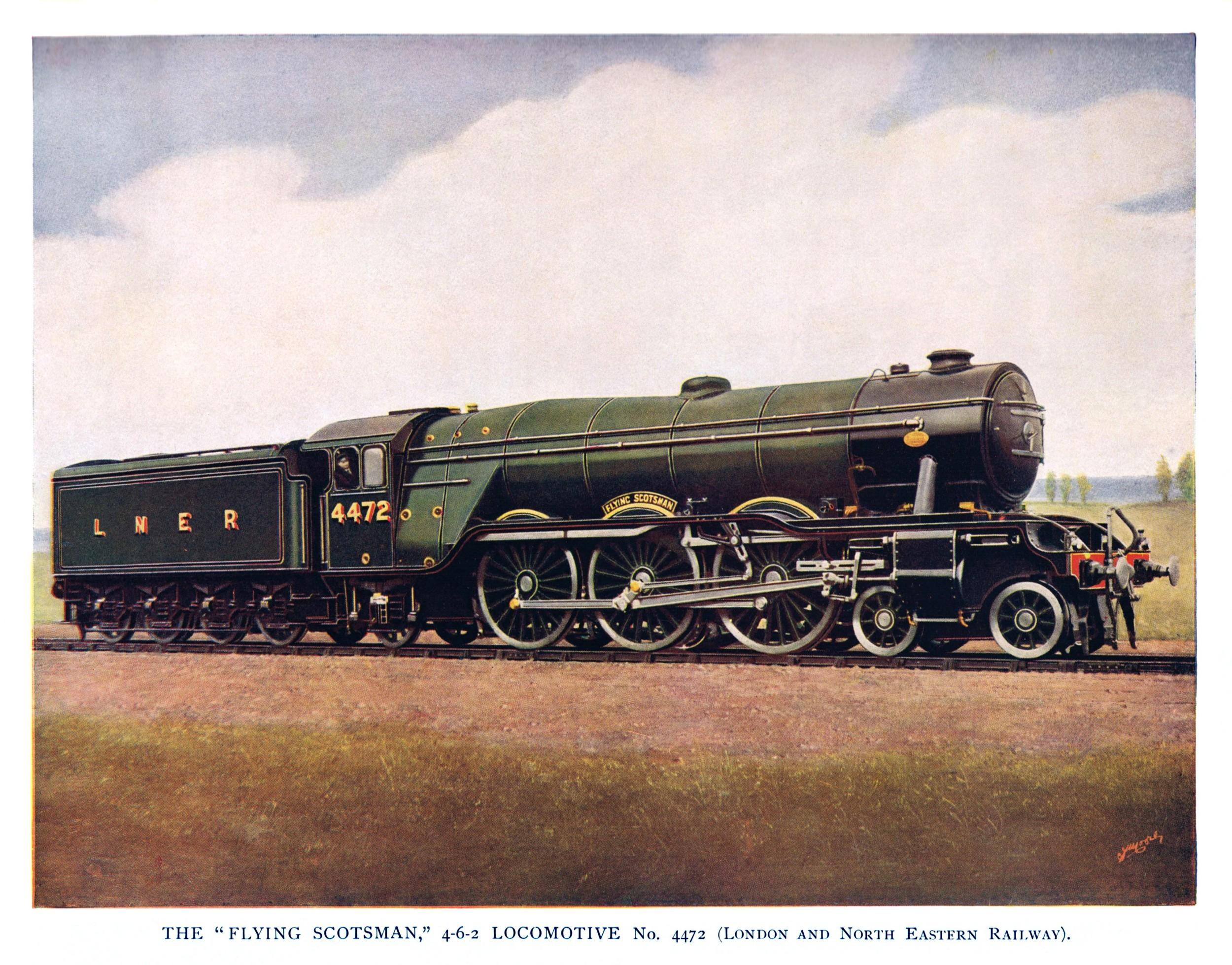 Locomotive Steam Engine Diagram Flying Scotsman Gresley A1 A3 Steam Lo Otive 1923 Lner Br Of Locomotive Steam Engine Diagram