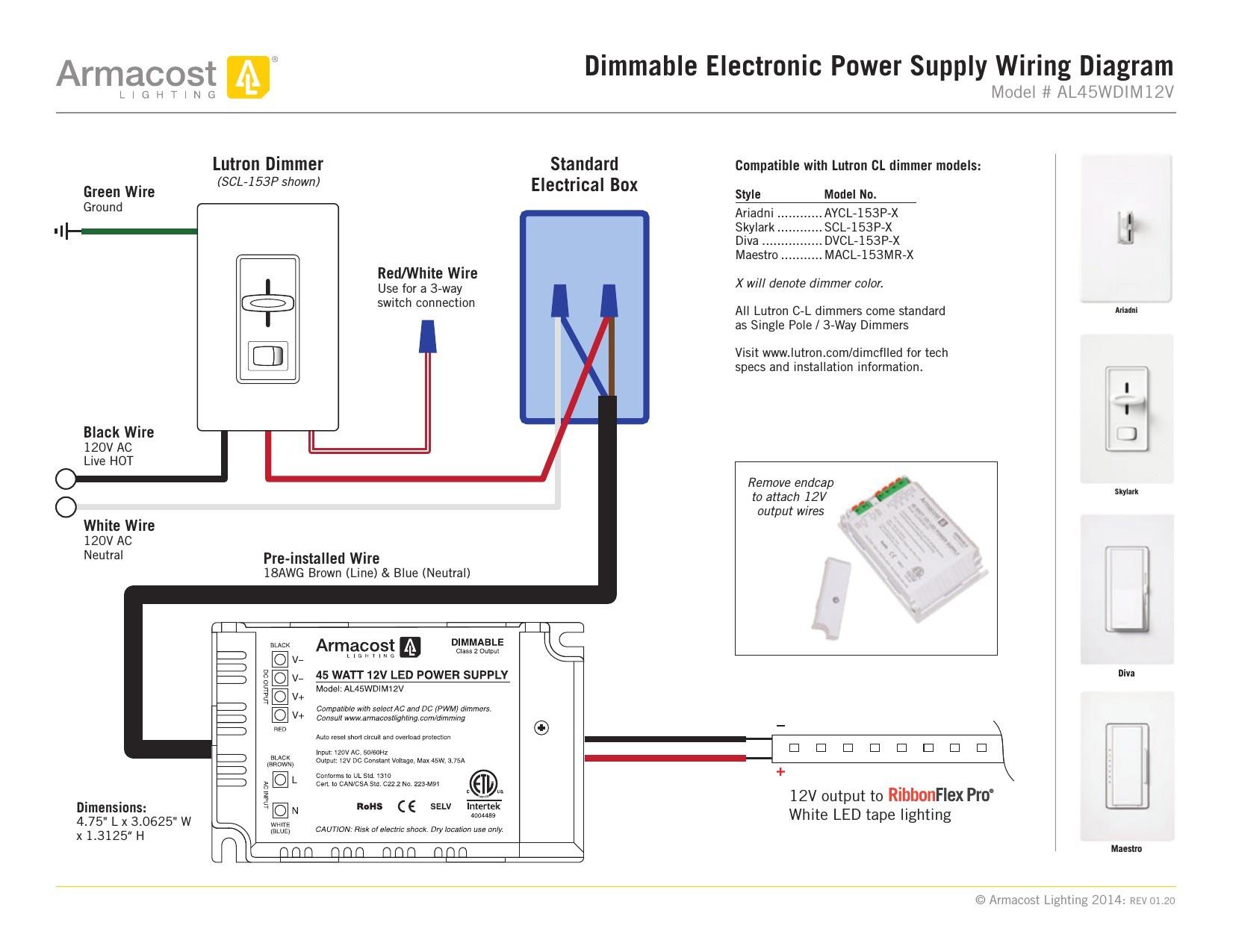 Lutron Dimmer 3 Way Wire Diagram | My Wiring DIagram