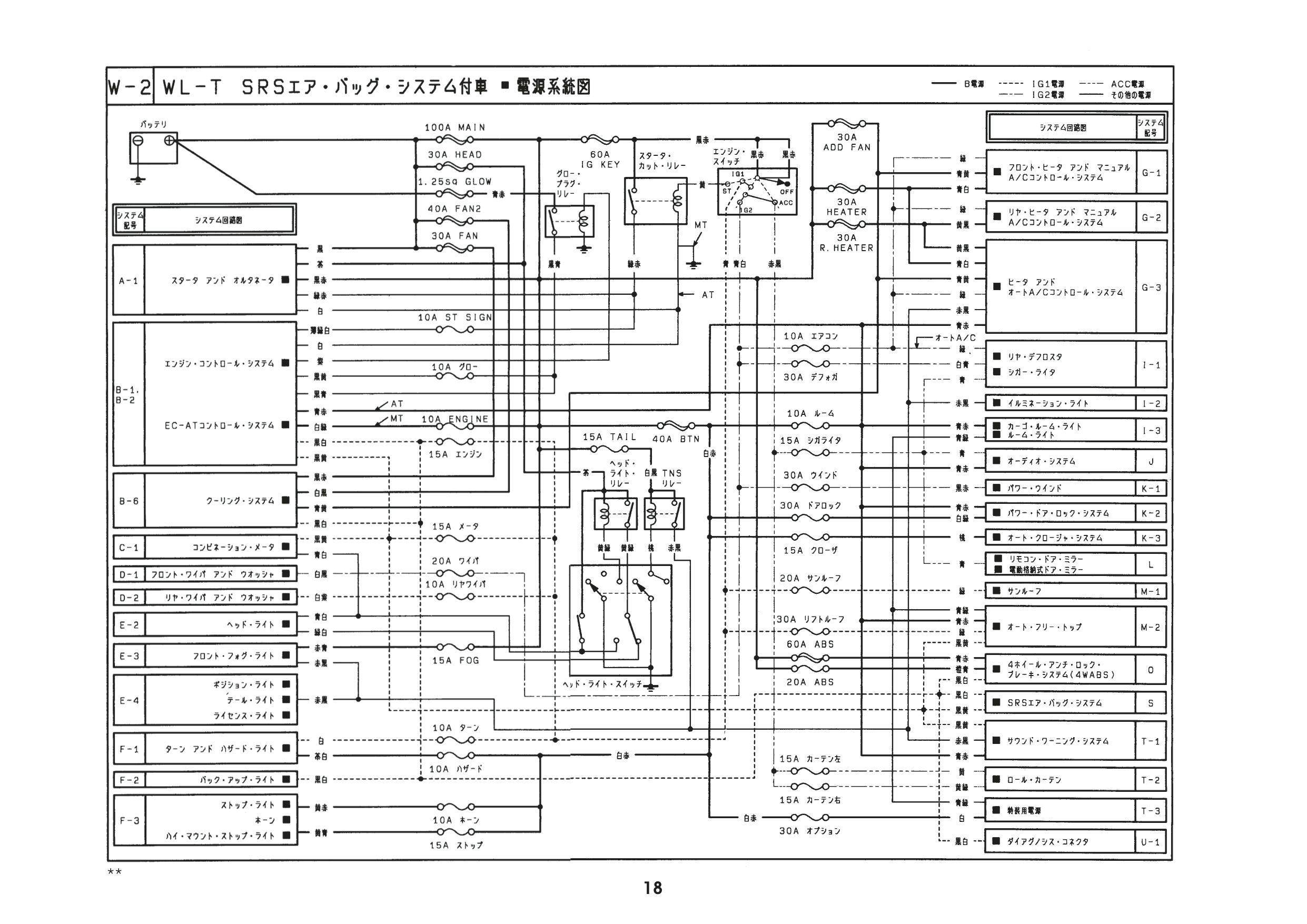 Mazda Bongo Engine Diagram 1999 Millenia Wiring Schematics Ziemlich Schaltplan Bilder Elektrische Of