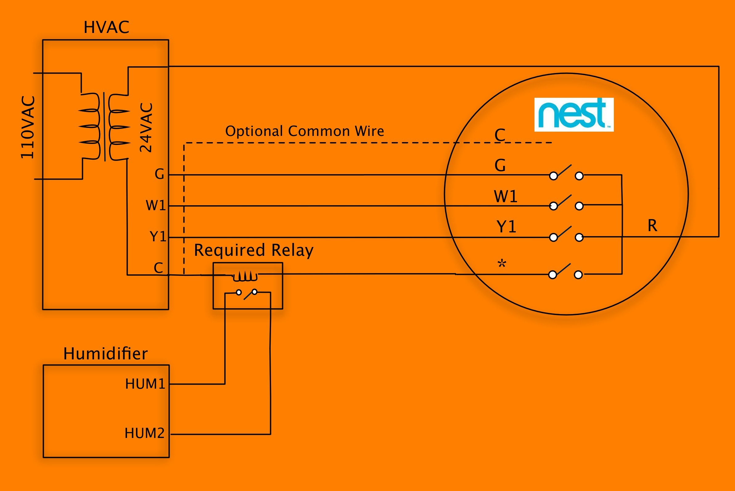 Nest thermostat Wiring Diagram Awesome Nest 3rd Generation Wiring Diagram Diagram Of Nest thermostat Wiring Diagram