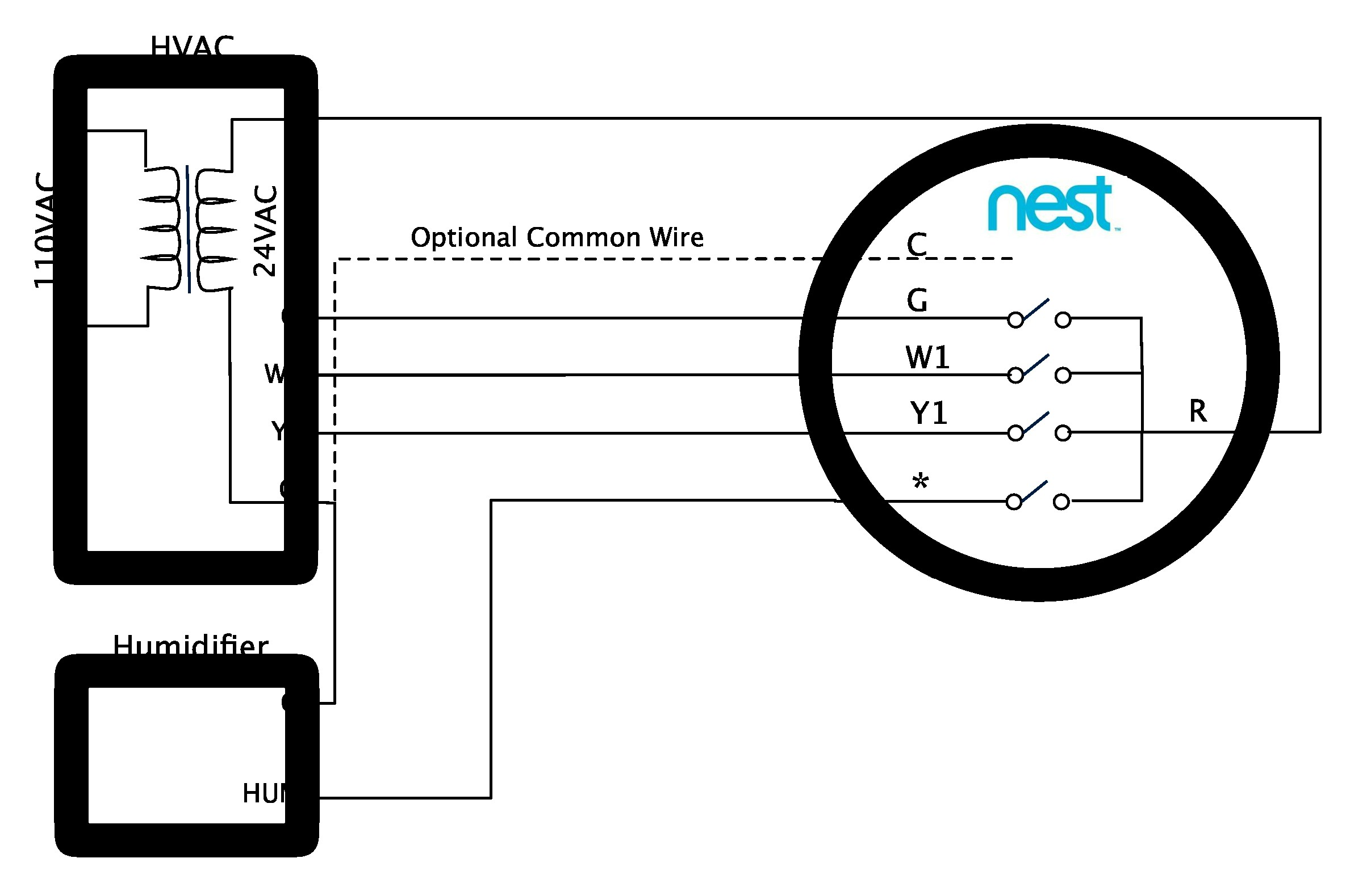 Nest Thermostat Wiring Diagram New House Old Tech Replacing A Learning Advanced Installation And Setup Help For In Of