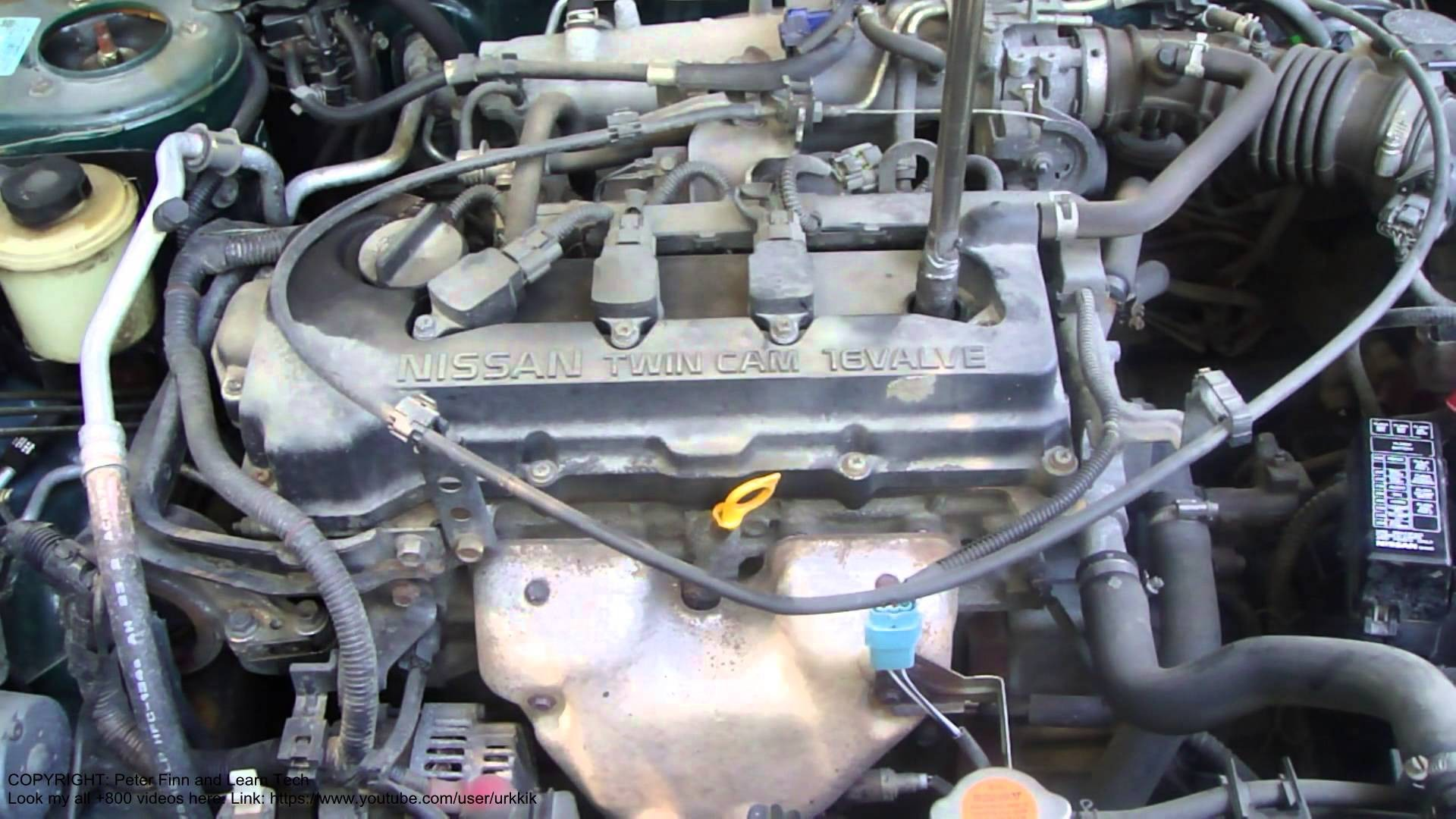 Nissan Almera Engine Diagram Radio Wiring Infiniti G20 How To Replace Primera Spark Plugs Also Of