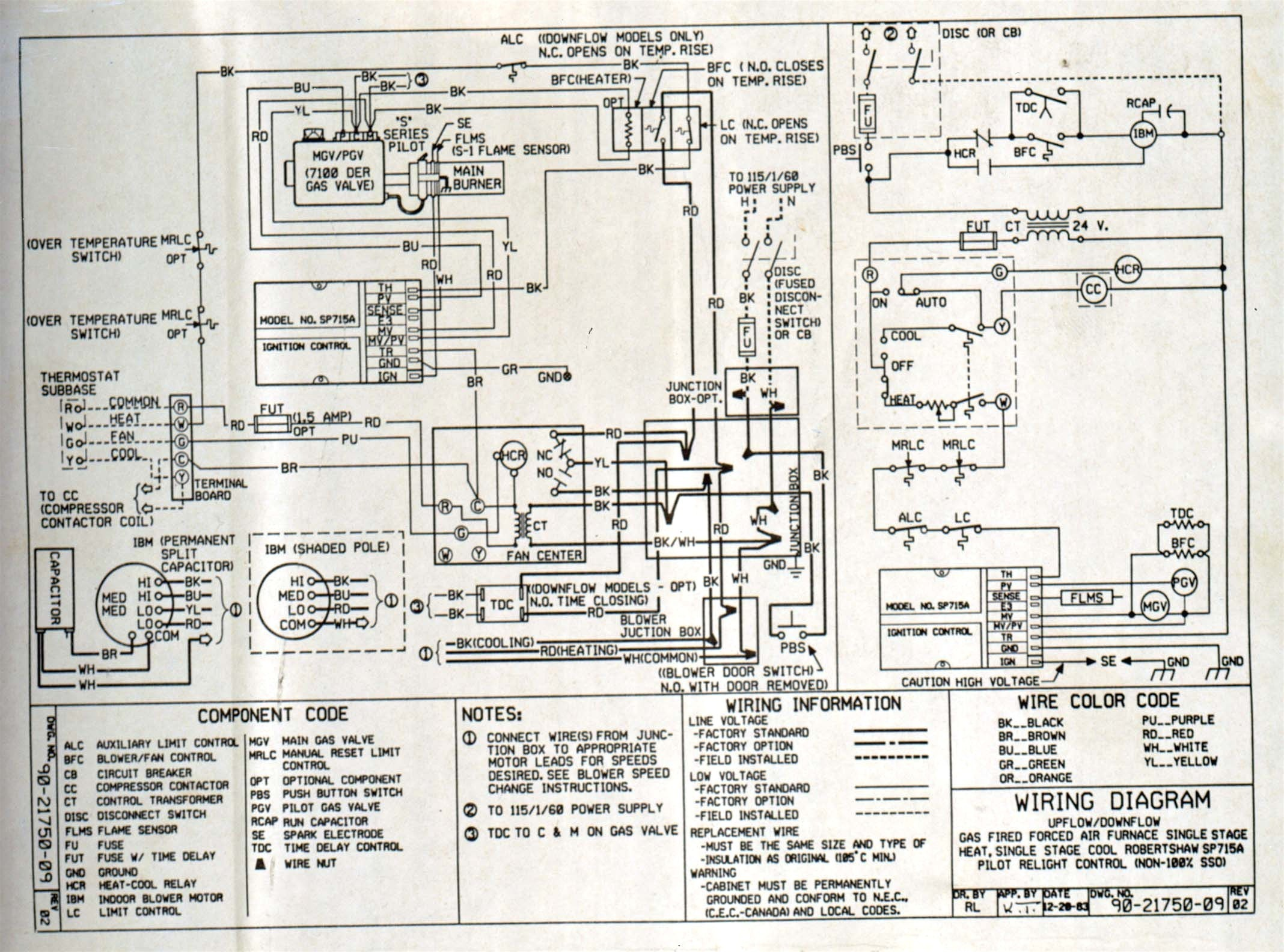 7e900b3 Payne Electric Furnace Sequencer Wiring Diagram