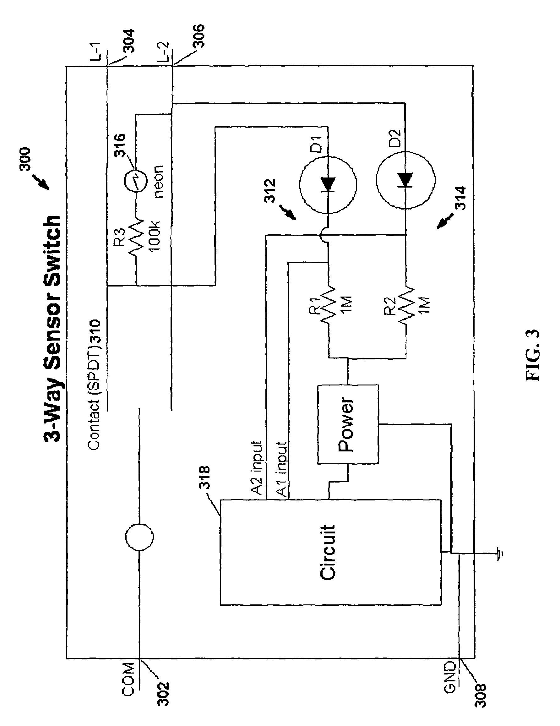 Pir Motion Sensor Wiring Diagram Patent Us Motion Sensor Switch for ...