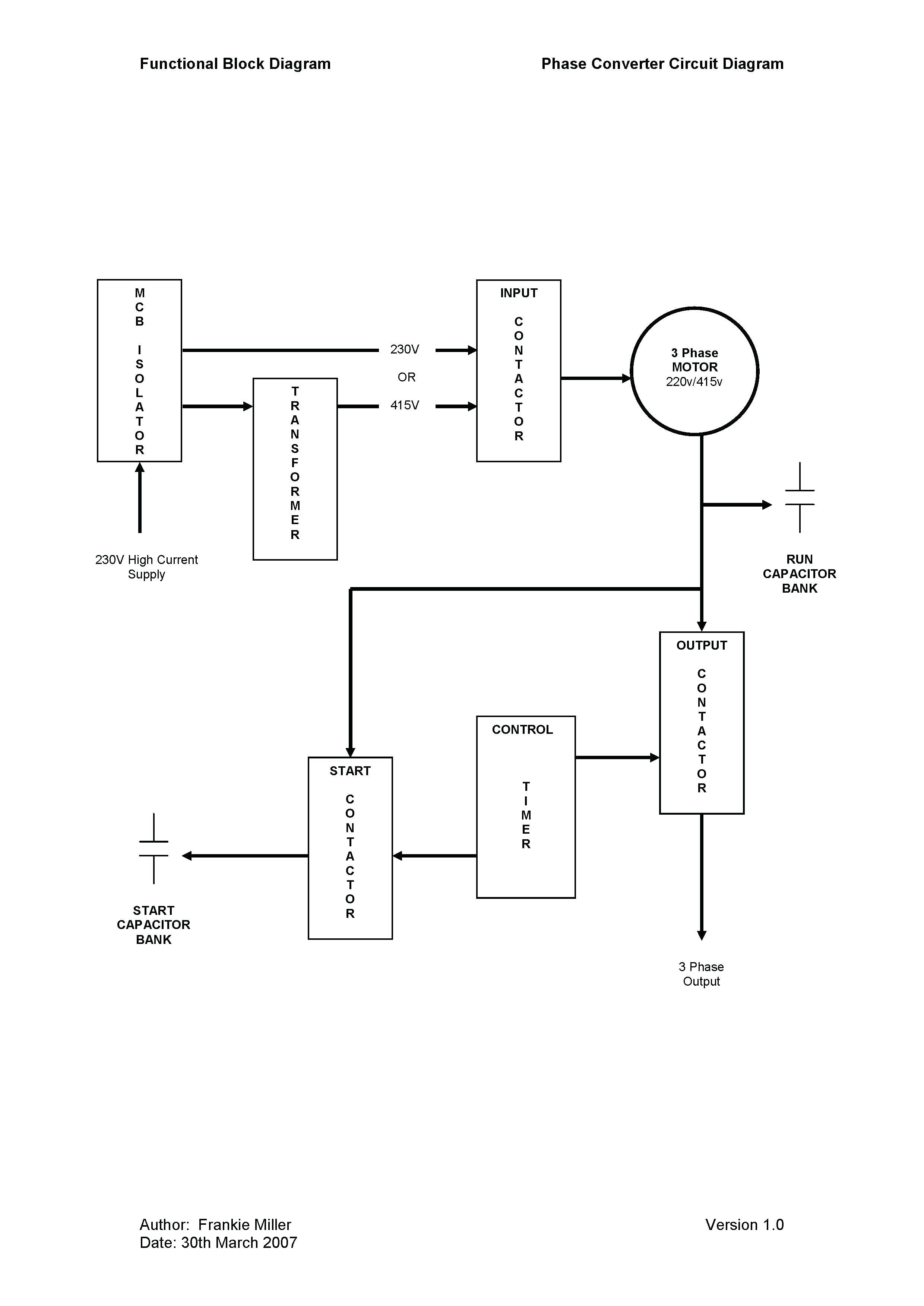 Ronk Phase Converter Wiring Diagram Rotary Switch Main Related Post