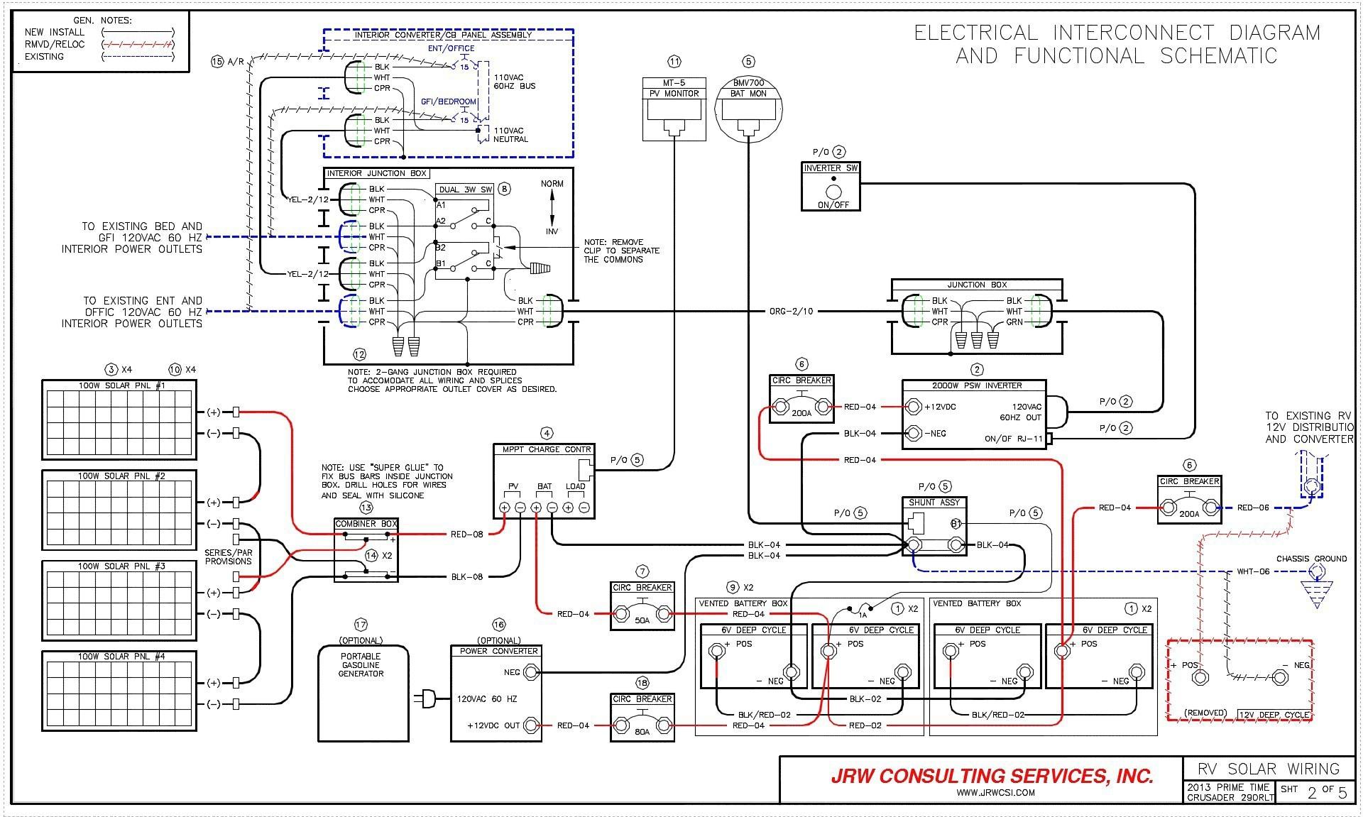 Rv solar Wiring Diagram Rv Electrical Wiring Diagram Wiring Diagram