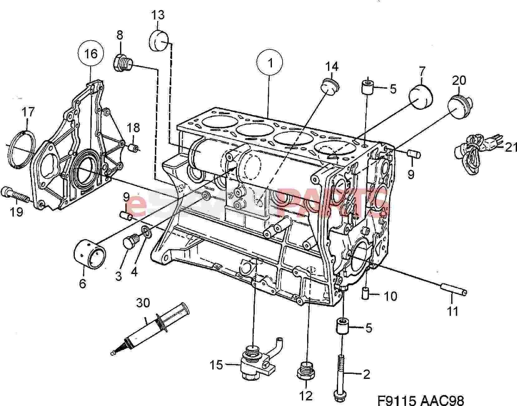 Saab 9 3 Engine Diagram Saab 9 5 Engine Diagram 2 2 ] Saab Flange Sealant Genuine Saab Parts Of Saab 9 3 Engine Diagram