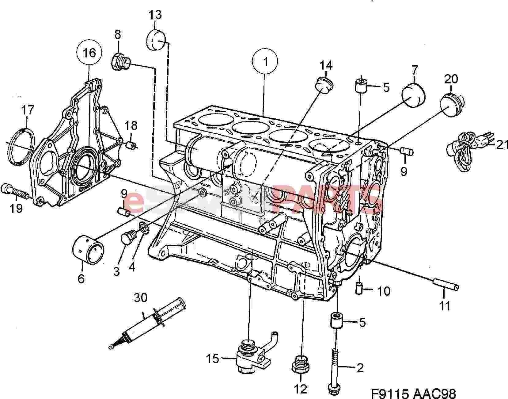 Saab 900 Engine Diagram Saab 9 5 Engine Diagram 2 2 ] Saab Flange Sealant Genuine Saab Parts Of Saab 900 Engine Diagram
